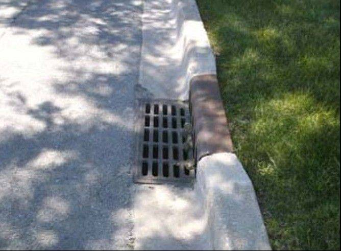 An example of sewer grates that have been stolen recently in West Chicago. West Chicago police are asking residents to report any suspicious activities.