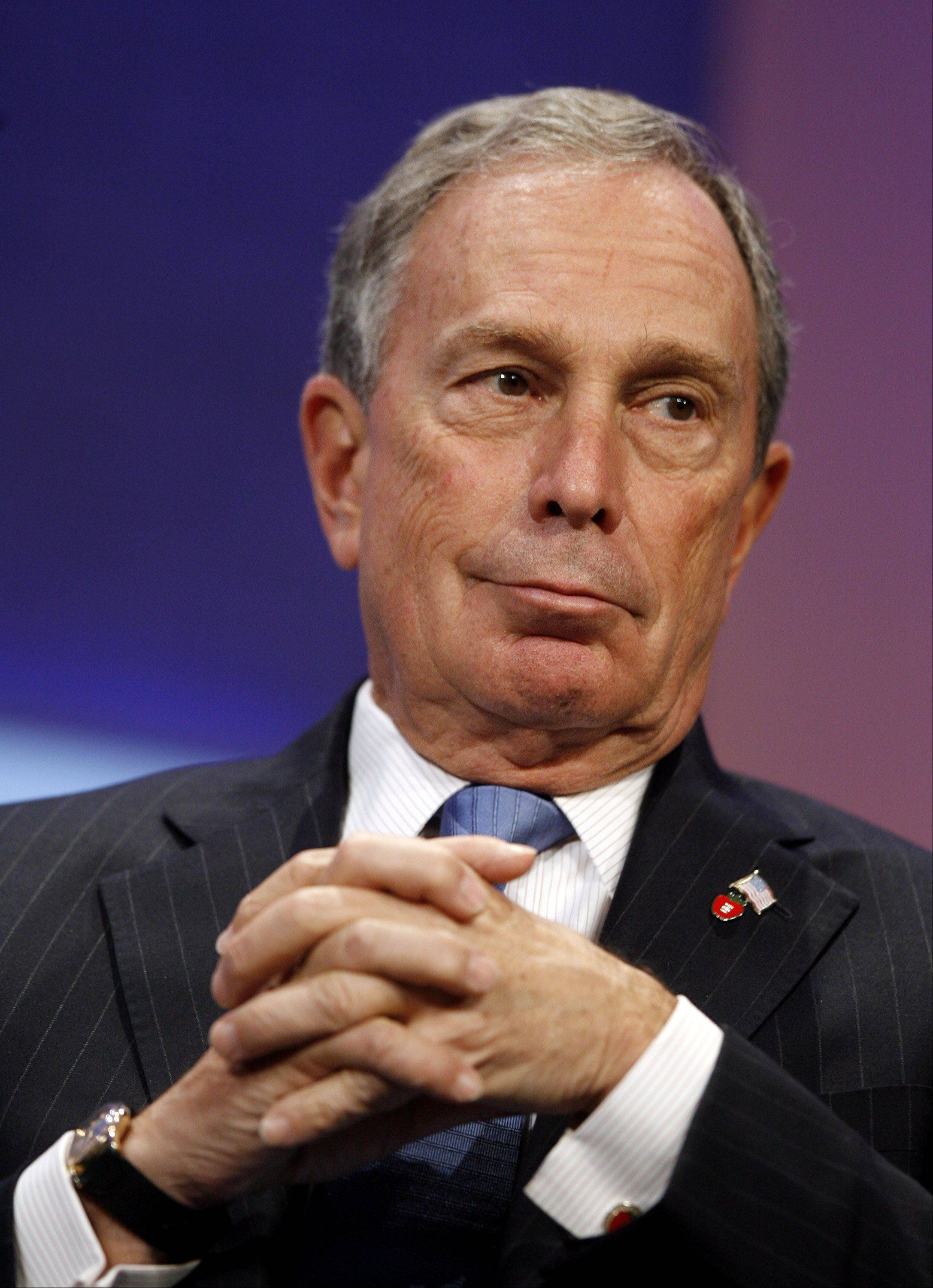 New York Mayor Michael Bloomberg has presided over all the annual Sept. 11 commemoration ceremonies in New York and has kept the events free of politics and focused on the victims and their families.