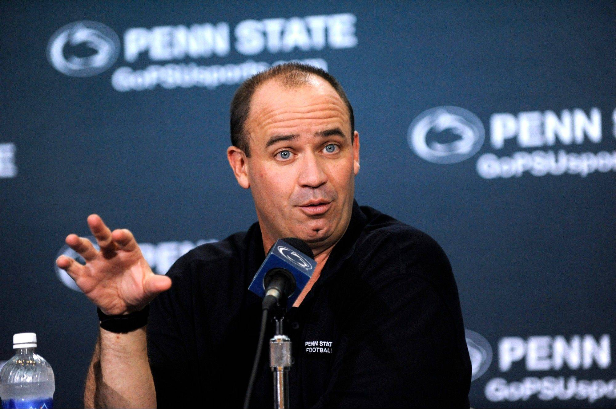 """Running back by committee isn't so bad when you have three good running backs,"" Penn State head coach Bill O'Brien said Tuesday during his weekly news conference in State College, Pa."