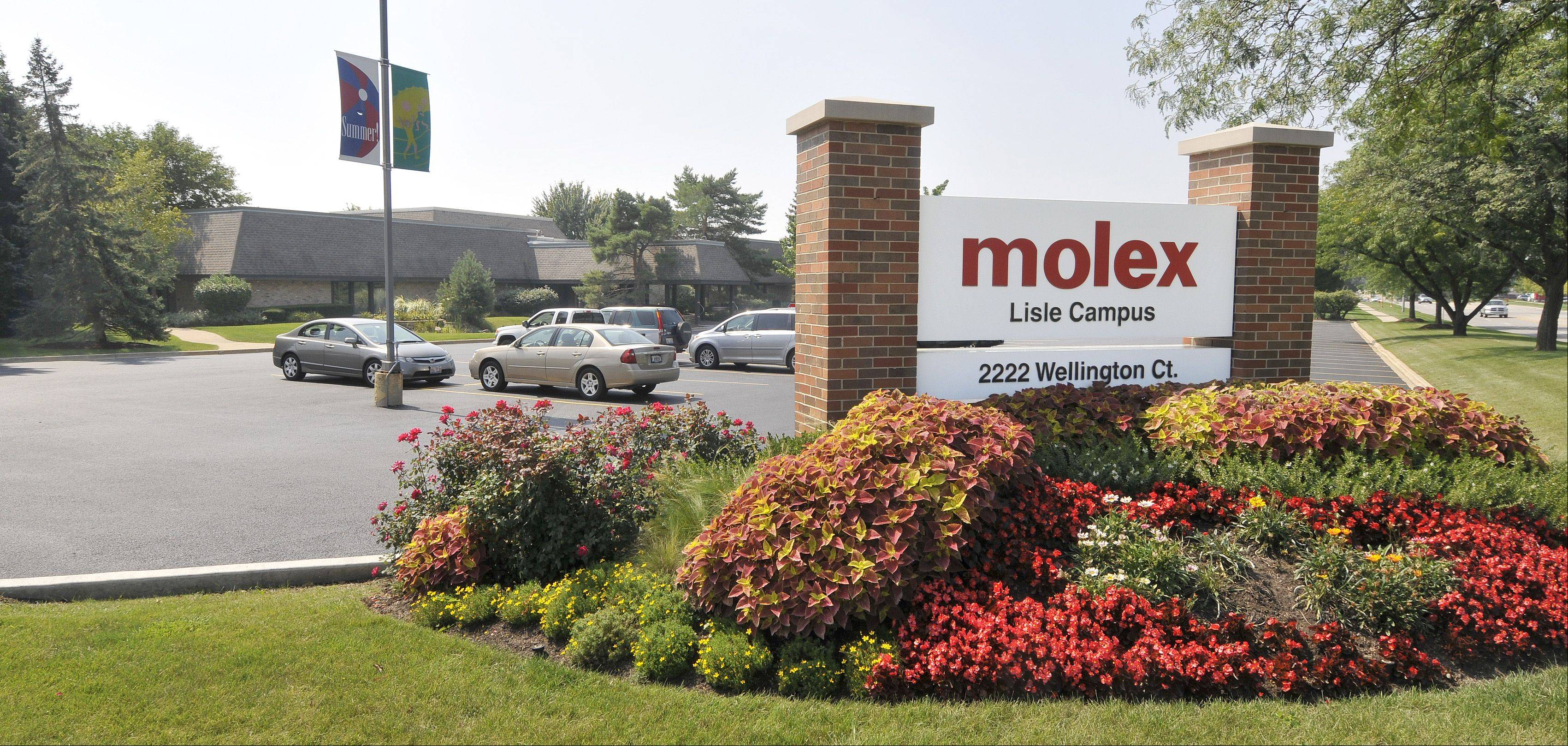 Will Koch restructure Lisle-based Molex?
