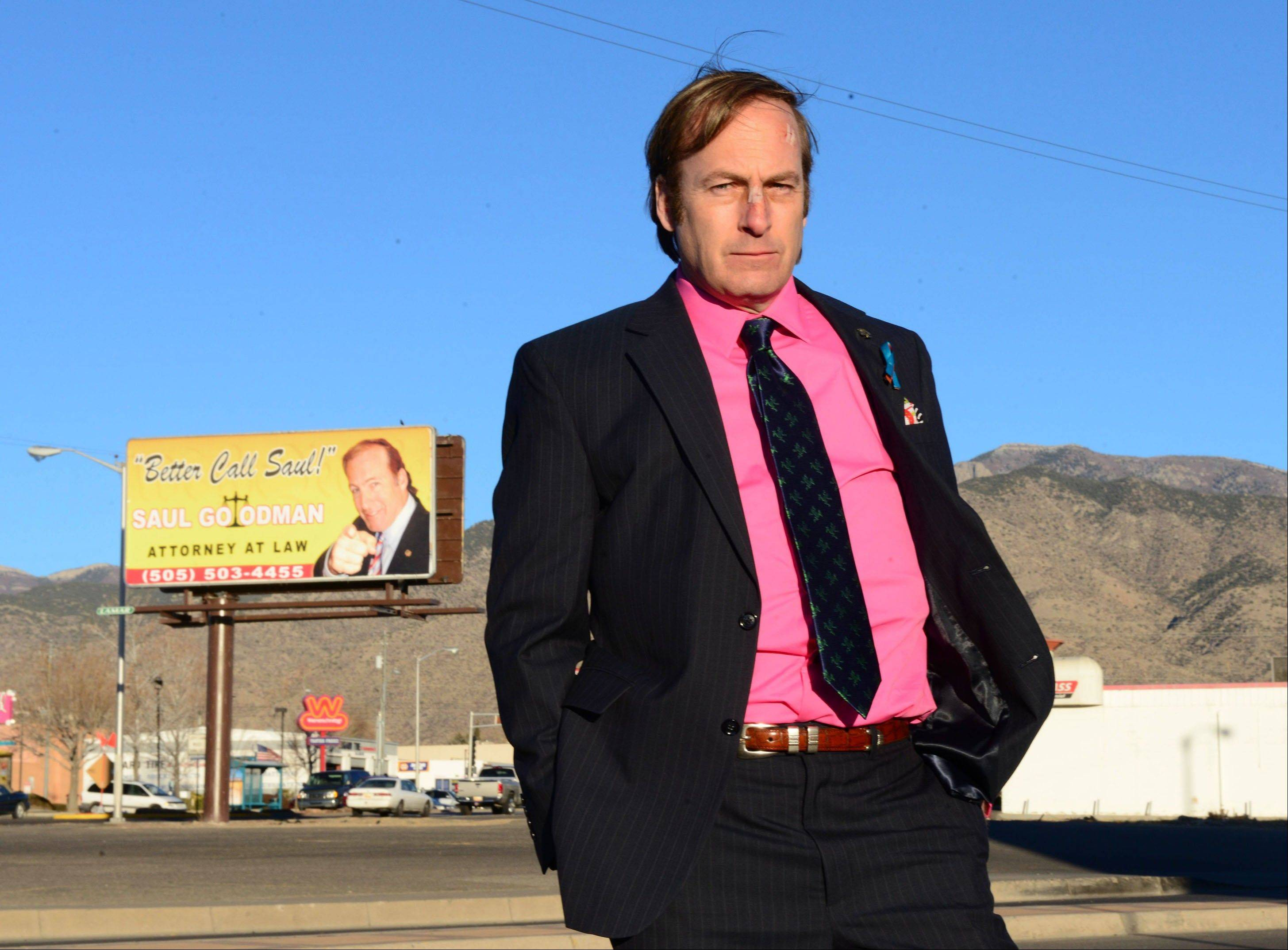 "Bob Odenkirk will reprise his ""Breaking Bad"" role of sleazy lawyer Saul Goodman in a spinoff called ""Better Call Saul."""
