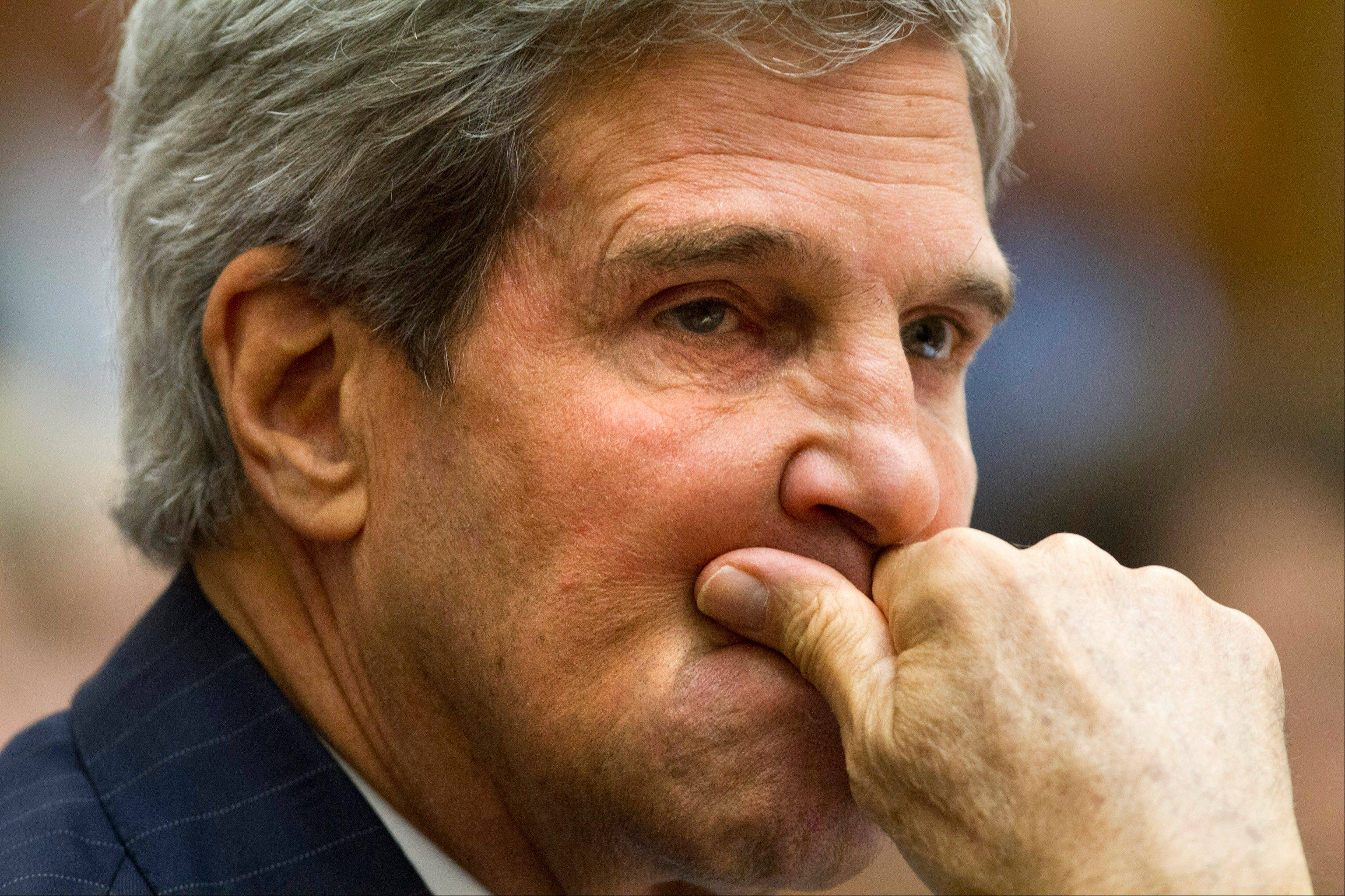 Secretary of State John Kerry is headed for Geneva to work on a Russian proposal for international inspectors to seize and destroy the deadly stockpile.