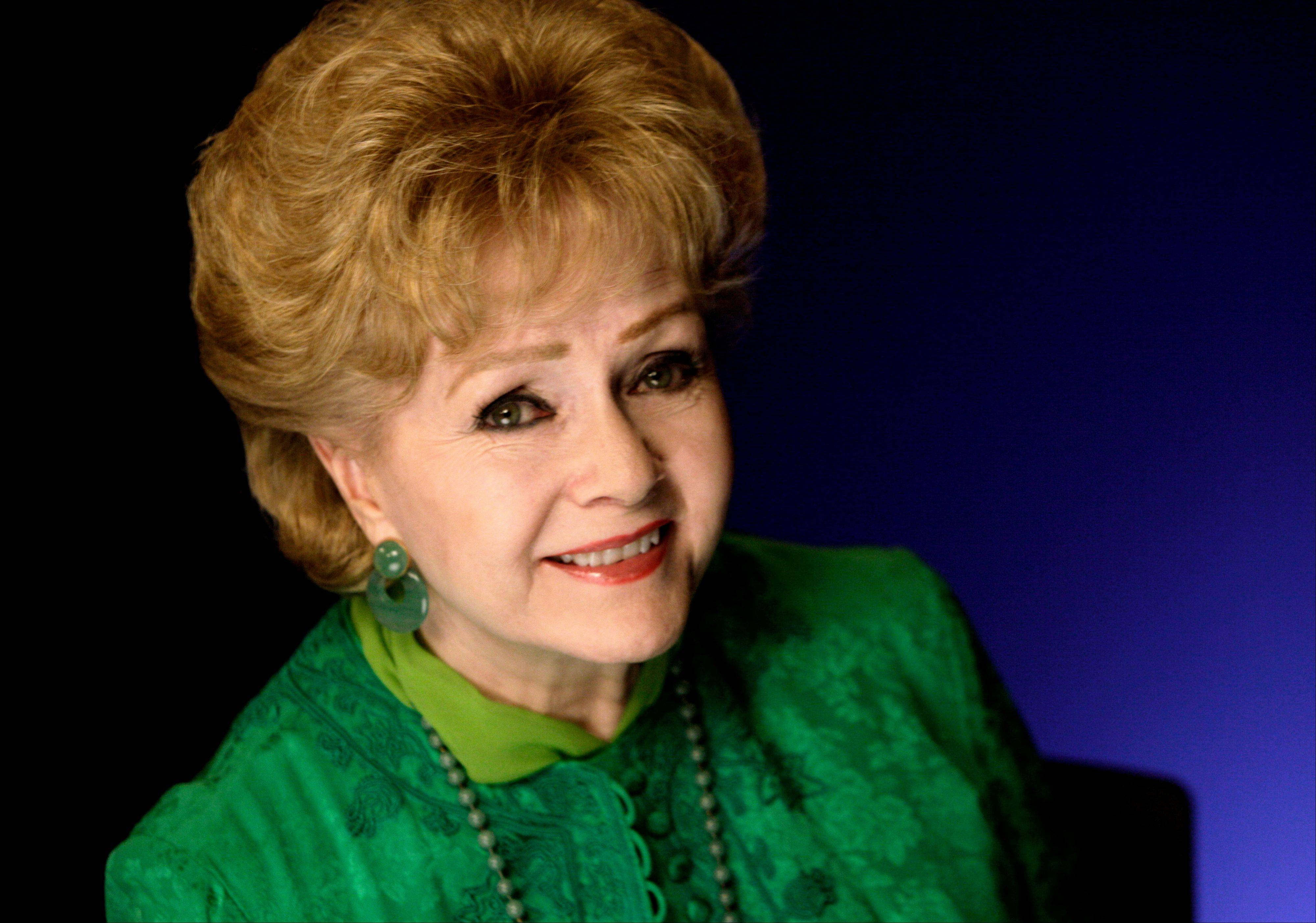 Actress Debbie Reynolds comes to the Arcada Theatre in St. Charles to sing and share stories from her Hollywood career.