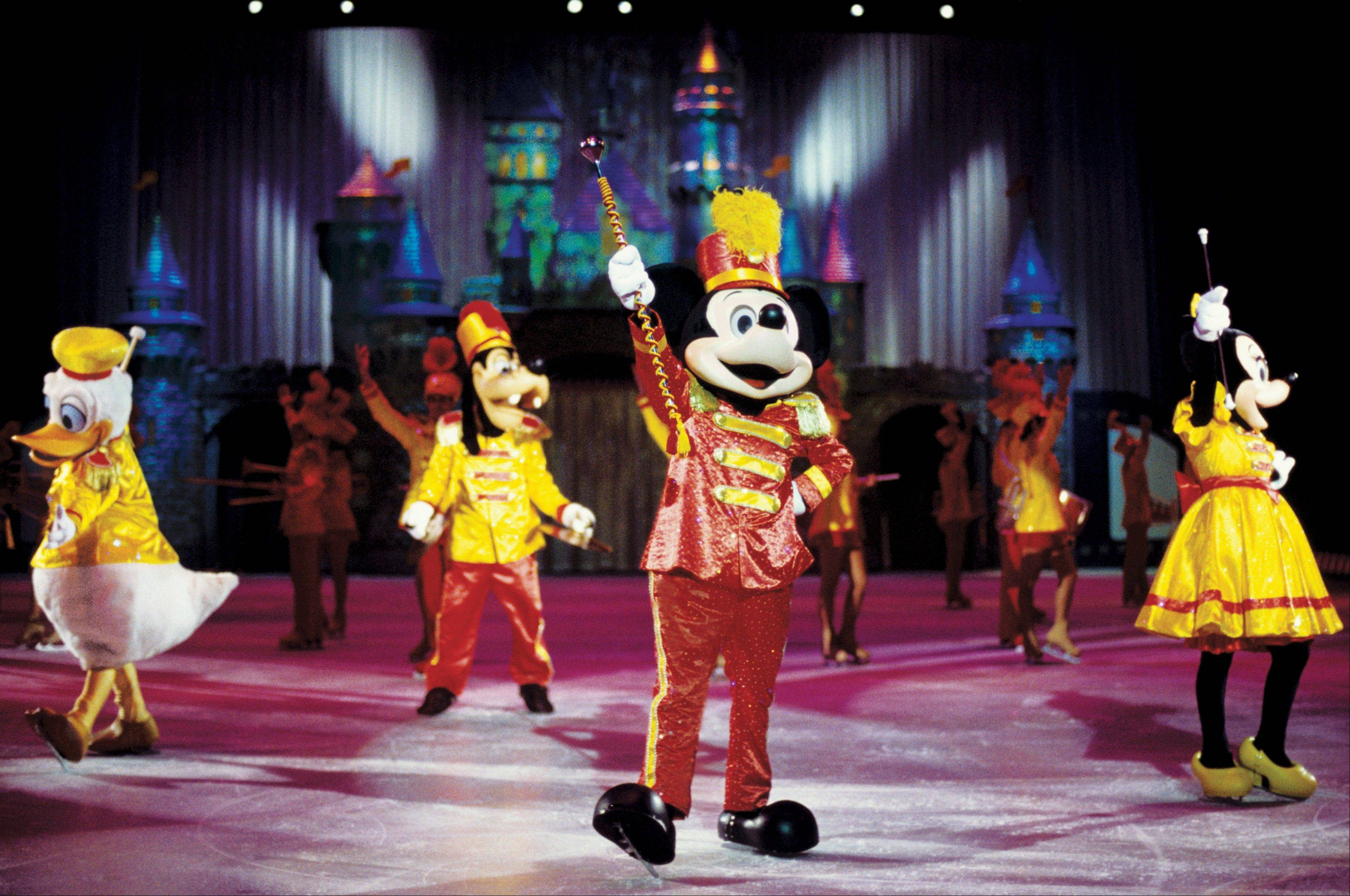 """Disney On Ice Celebrates 100 Years of Magic"" takes to the ice at the United Center in Chicago."