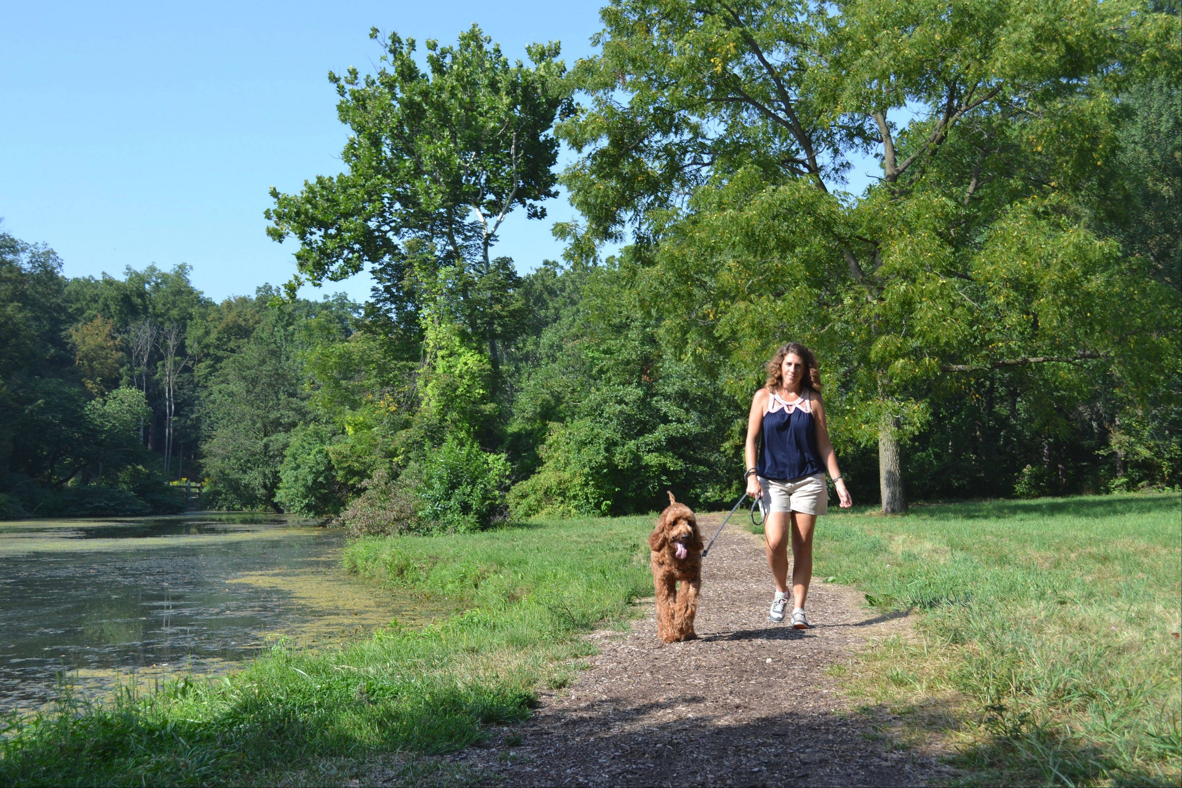 "The Morton Arboretum in Lisle opens up to owners and their dogs for one day only as part of the ""Tails on the Trails"" event on Saturday, Sept. 14."