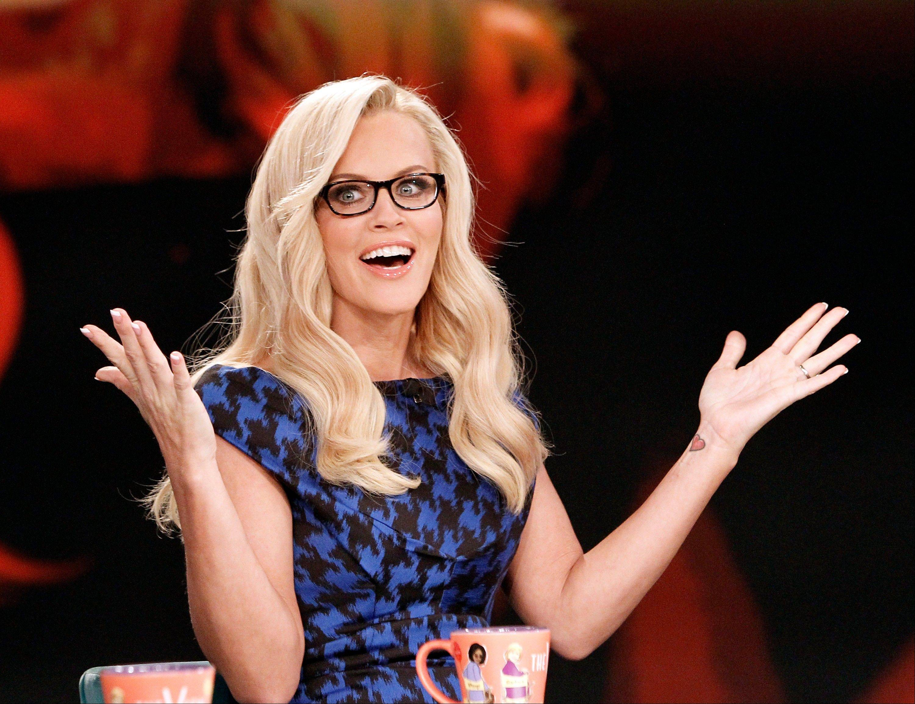 "Jenny McCarthy injects a little levity into her first week on ""The View."""