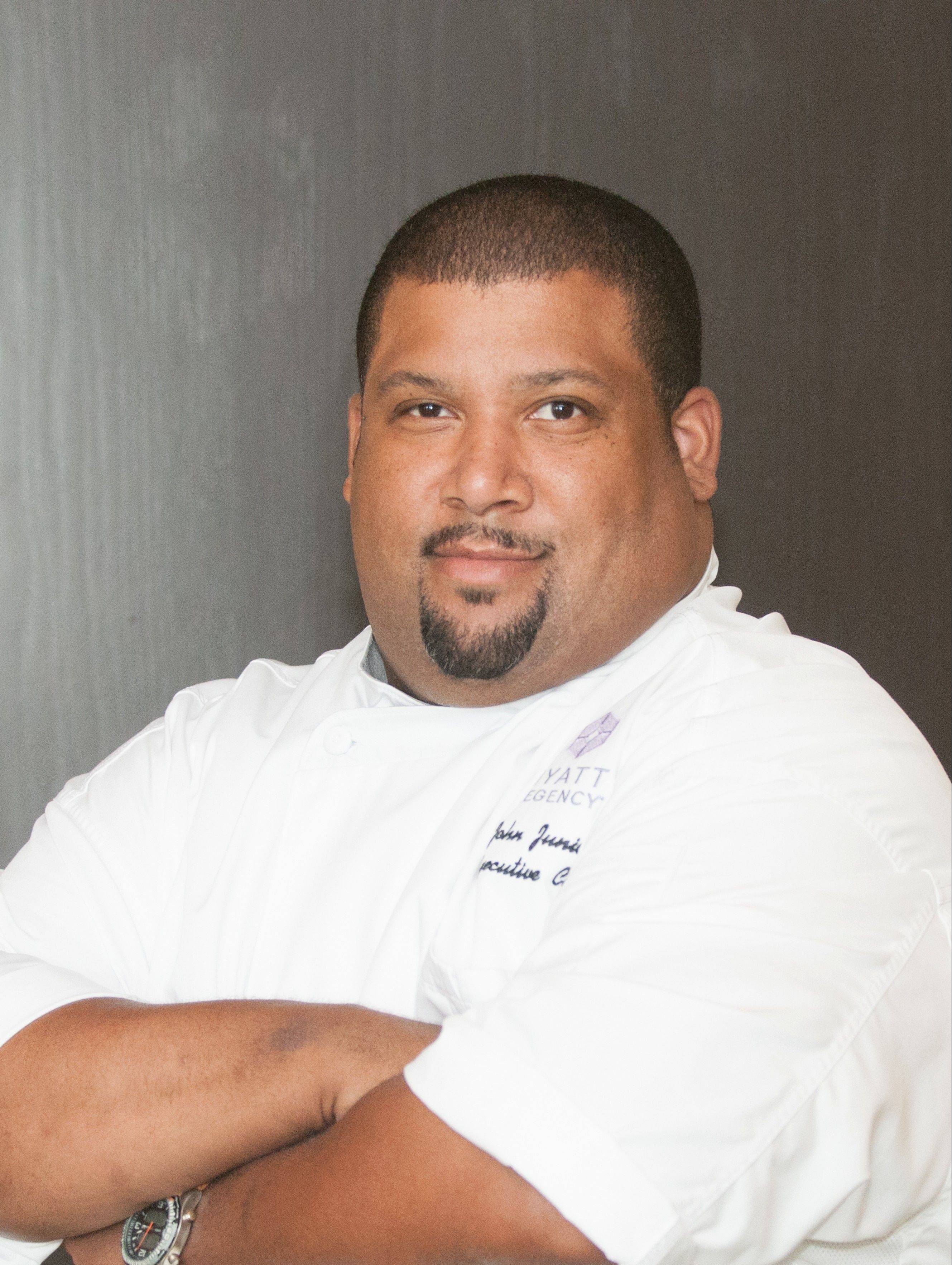 John Junior, executive chef at the Hyatt Regency Schaumburg