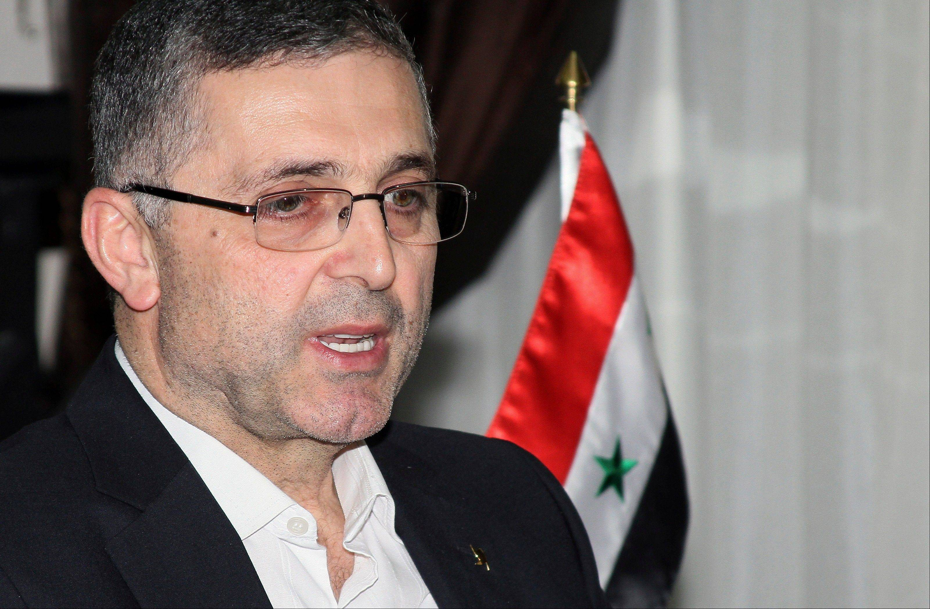 Ali Haidar, the Syrian Minister for Reconciliation Affairs, said Syria's acceptance of a Russian initiative to relinquish its chemical weapons is a sign of strength and that by agreeing to the proposal, Syria has taken away one of the pretexts for war against Syria although he says the threat of foreign military action remains.