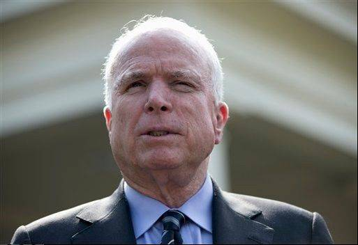 "Sen. John McCain said Wednesday he worries that the cause of rebels fighting Syria's President Bashar Assad has been obscured in the rapid-fire military and diplomatic events following a chemical weapons attack near Damascus. ""I feel very badly for my friends in the Free Syrian Army today,"" McCain said."