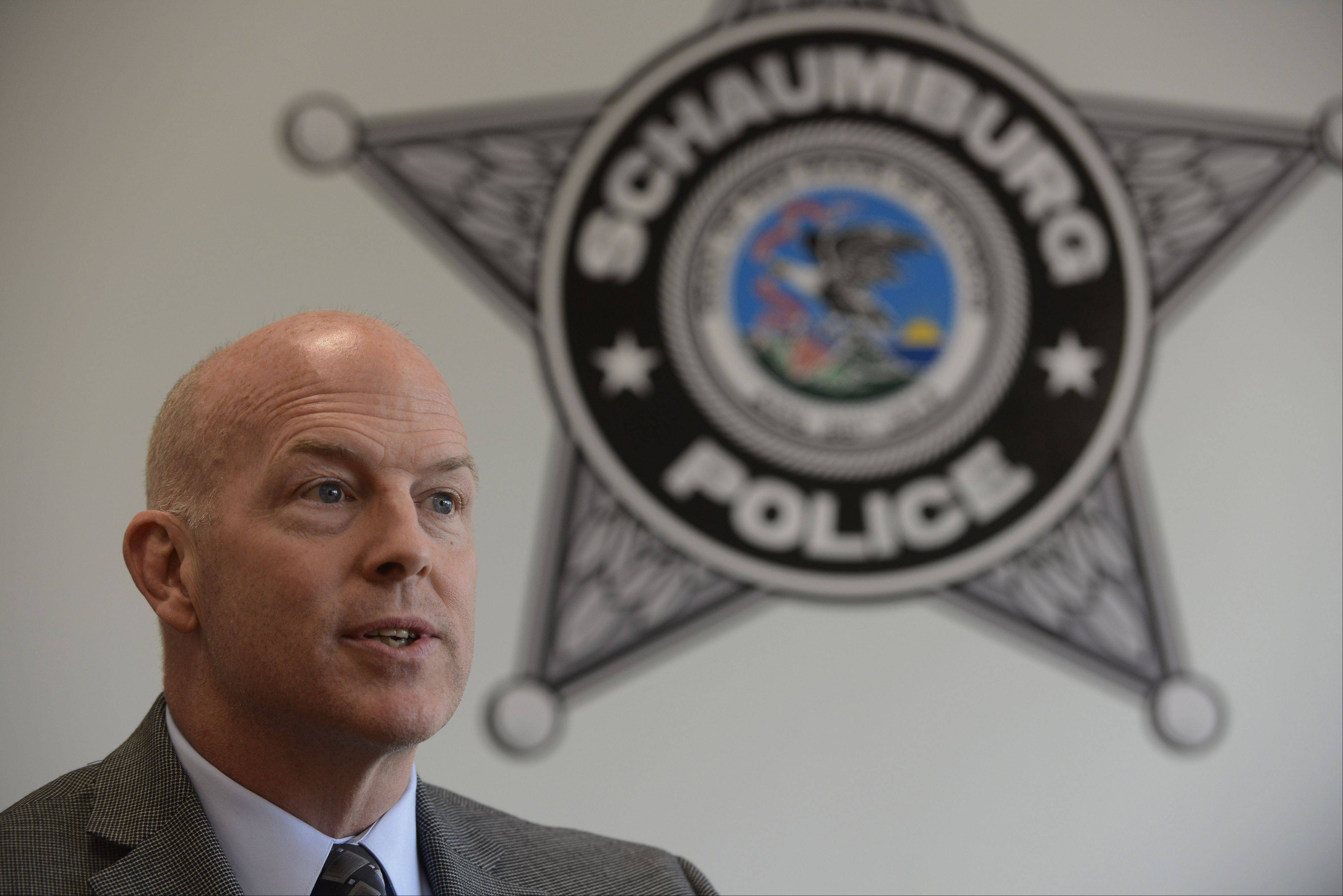 New Schaumburg police investigations Cmdr. Dan Roach has plans to reorganize how the department investigates gang and drug crimes.
