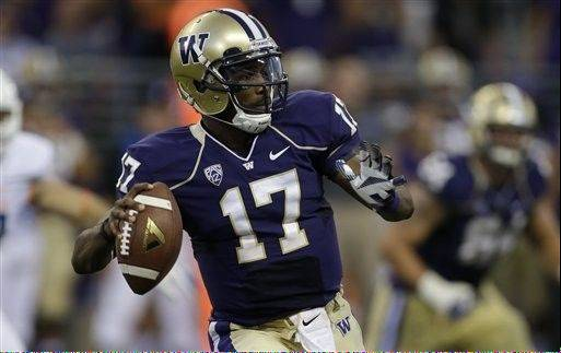 Quarterback Keith Price and the Washington Huskies ran a play an average of every 21 seconds in their season opener against Boise State.