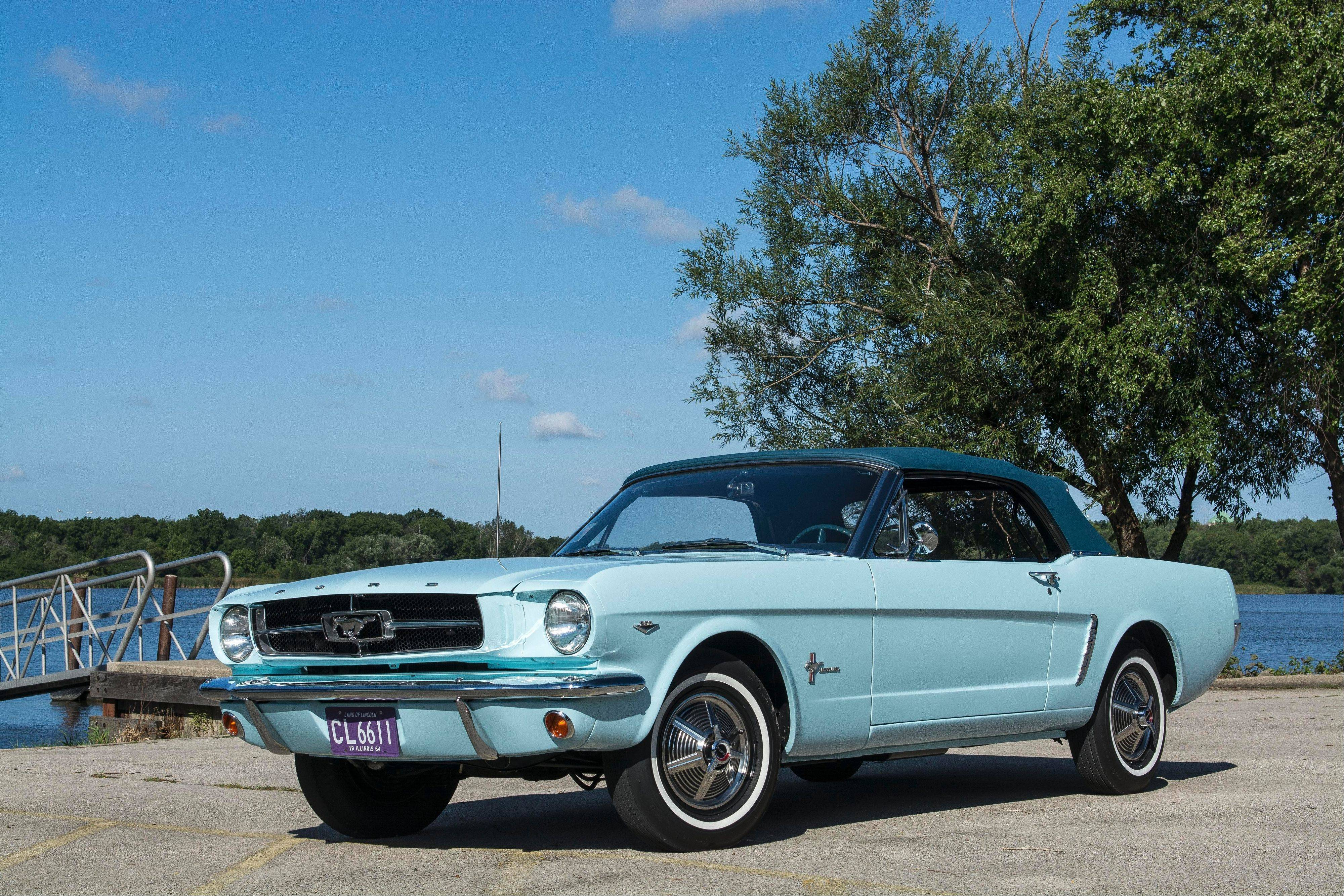 1964� Ford Mustang