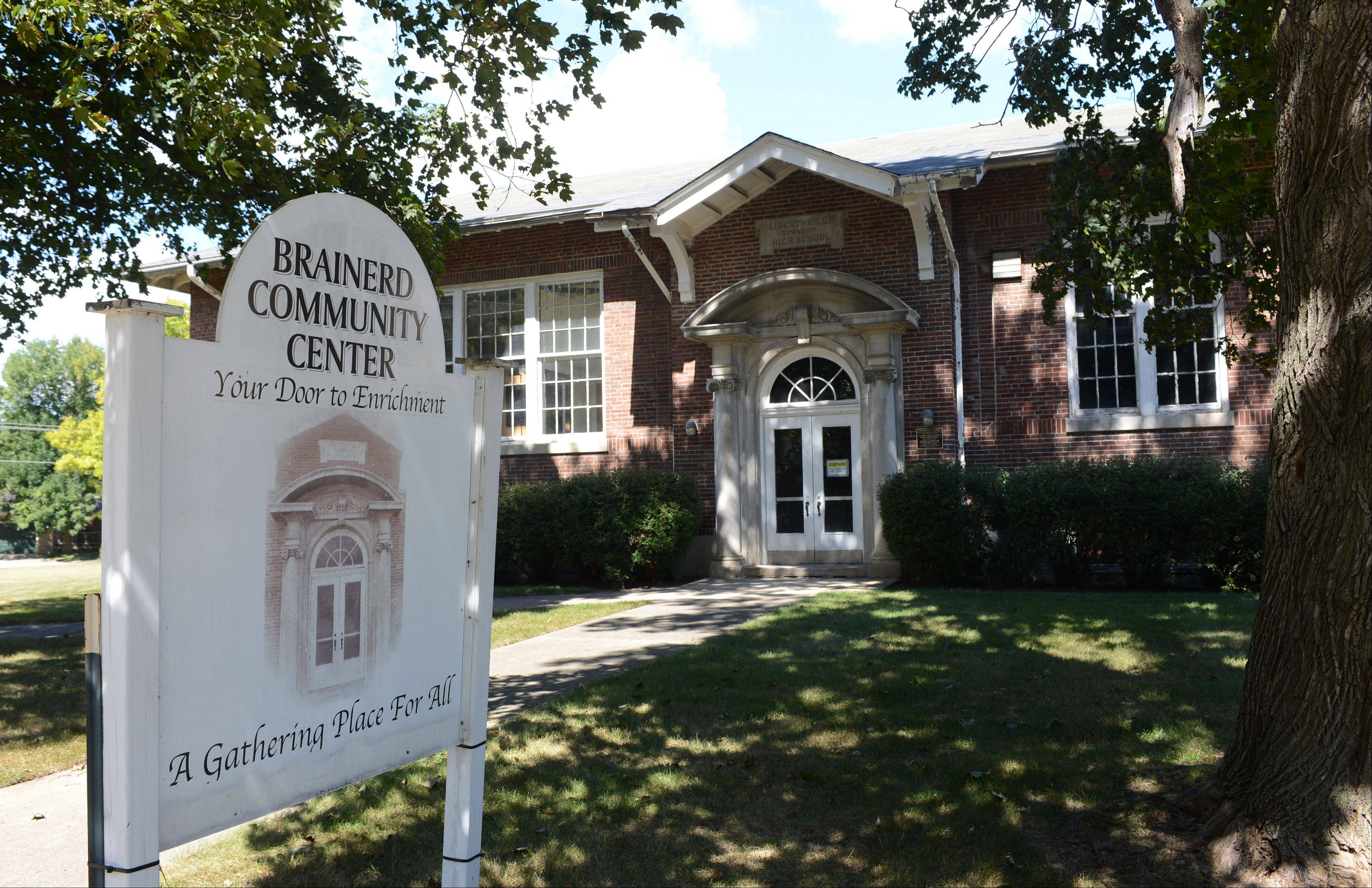 Libertyville voters will be asked in March whether they want to raise property taxes to pay for the conversion of the vacant Brainerd building in Libertyville to a community center.