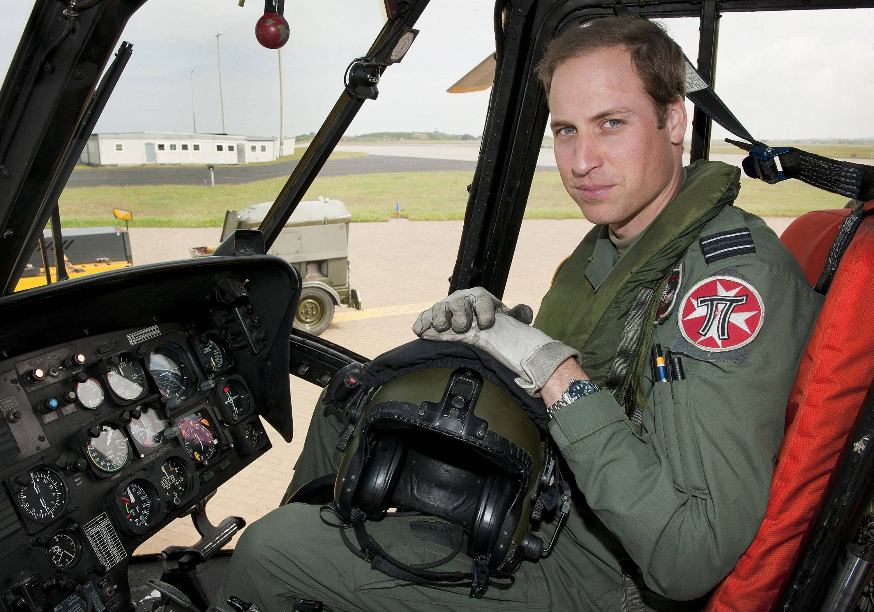 Britain's Prince William has finished his tour of duty as a Royal Air Force search-and-rescue helicopter pilot and has left operational service with the British military to focus on royal duties and charity work, royal officials said Thursday, Sept 12, 2013.