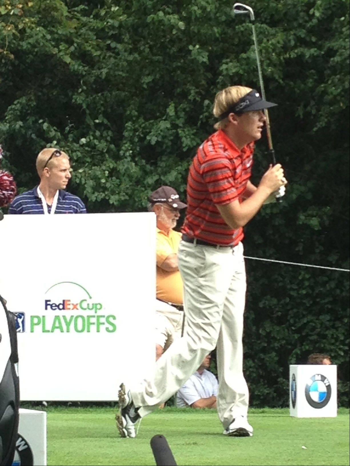After helping Barry Rozner survive Wednesday's Pro-Am event, Russell Henley tees off for the opening round of the BMW Championship Thursday.