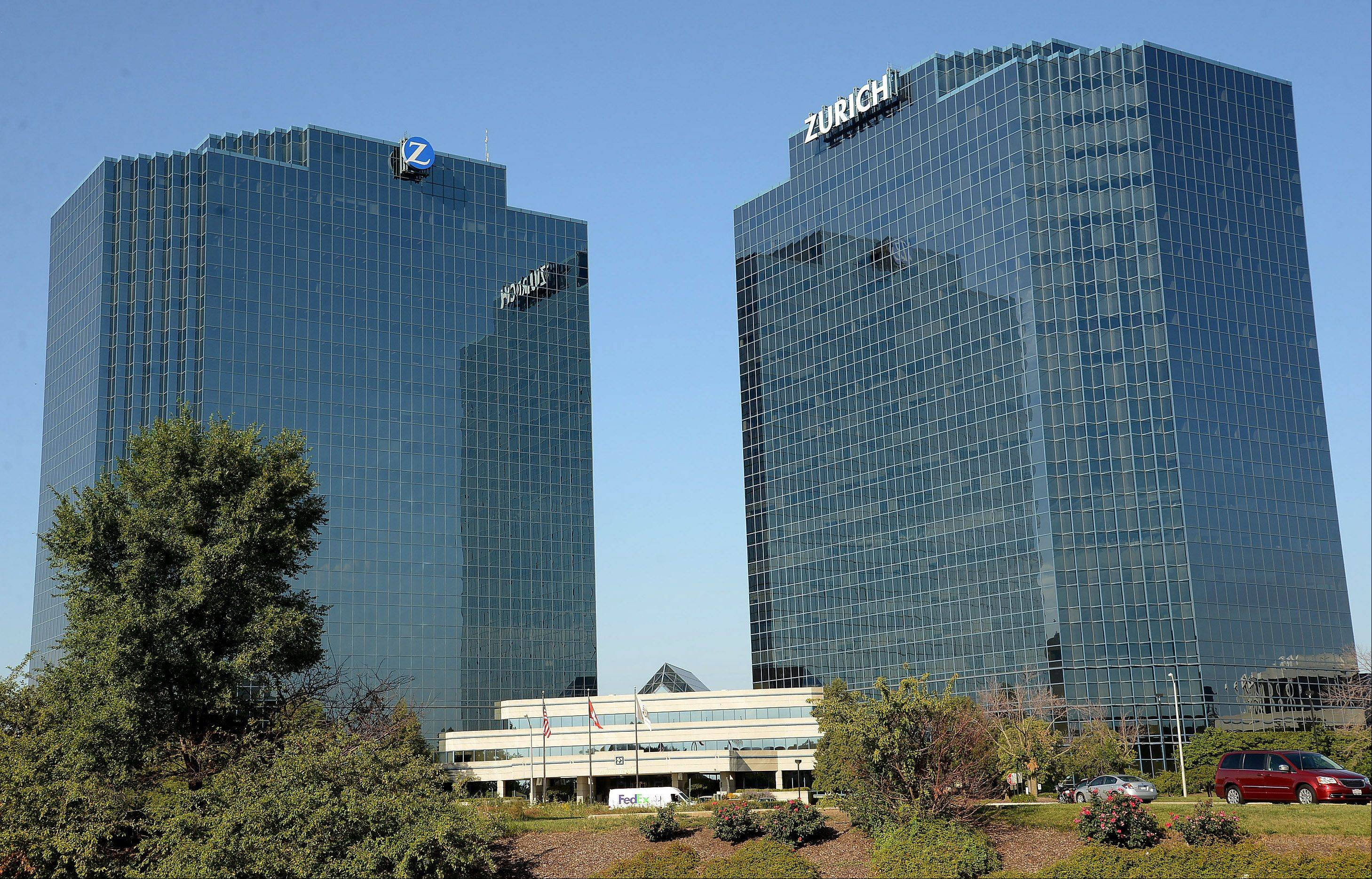 Zurich Insurance is planning to move out of its iconic Zurich Towers in Schaumburg to a new facility on the Motorola Solutions campus at Algonquin and Meacham roads. Groundbreaking is expected next year.
