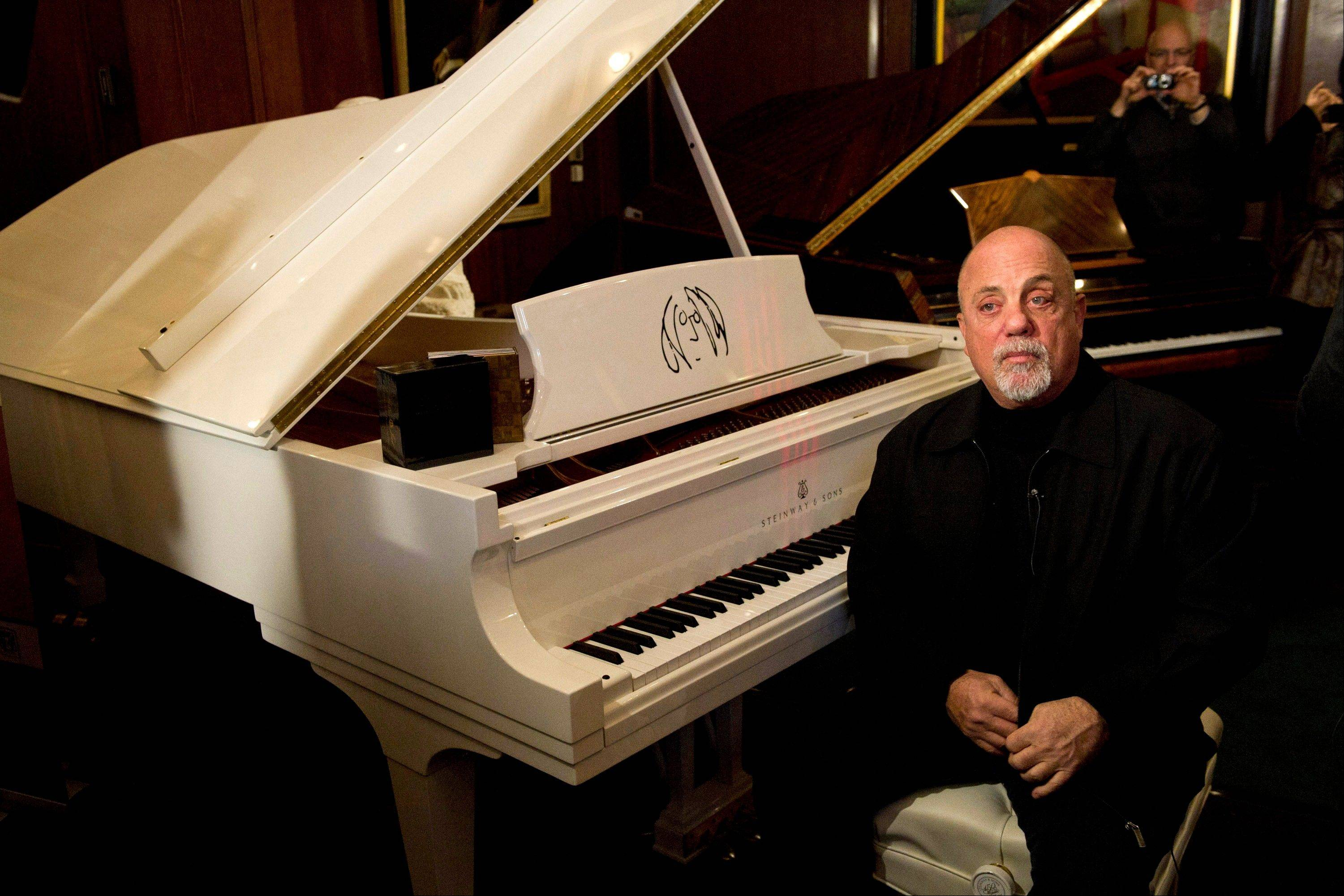 Billy Joel, along with Carlos Santana, jazz artist Herbie Hancock, opera star Martina Arroyo and actress Shirley MacLaine, will receive this year's Kennedy Center Honors.