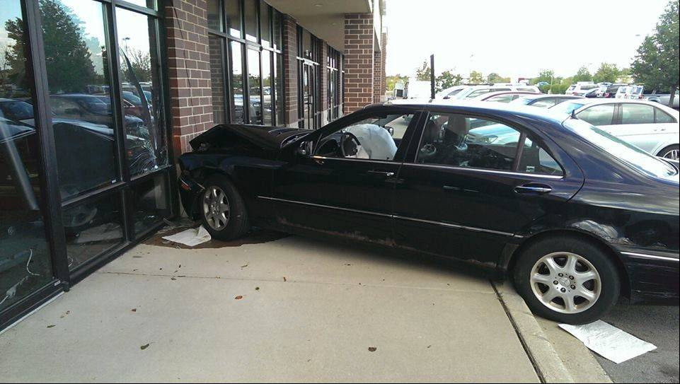 Cops: Second driver strikes Naperville gym