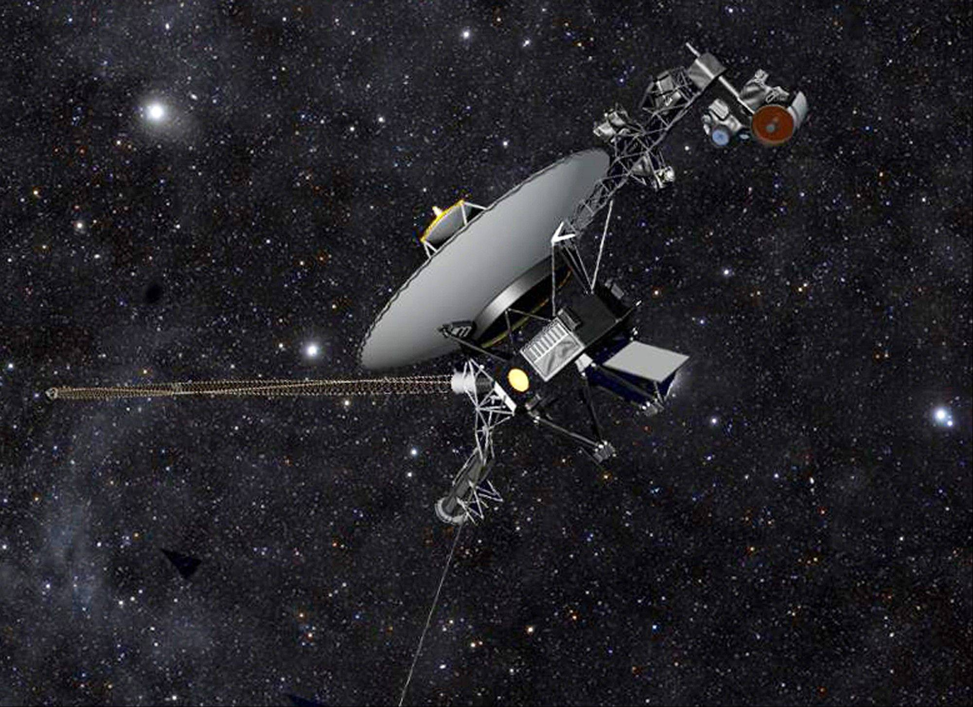 The Voyager 1 spacecraft has been barreling through space for more than three decades.