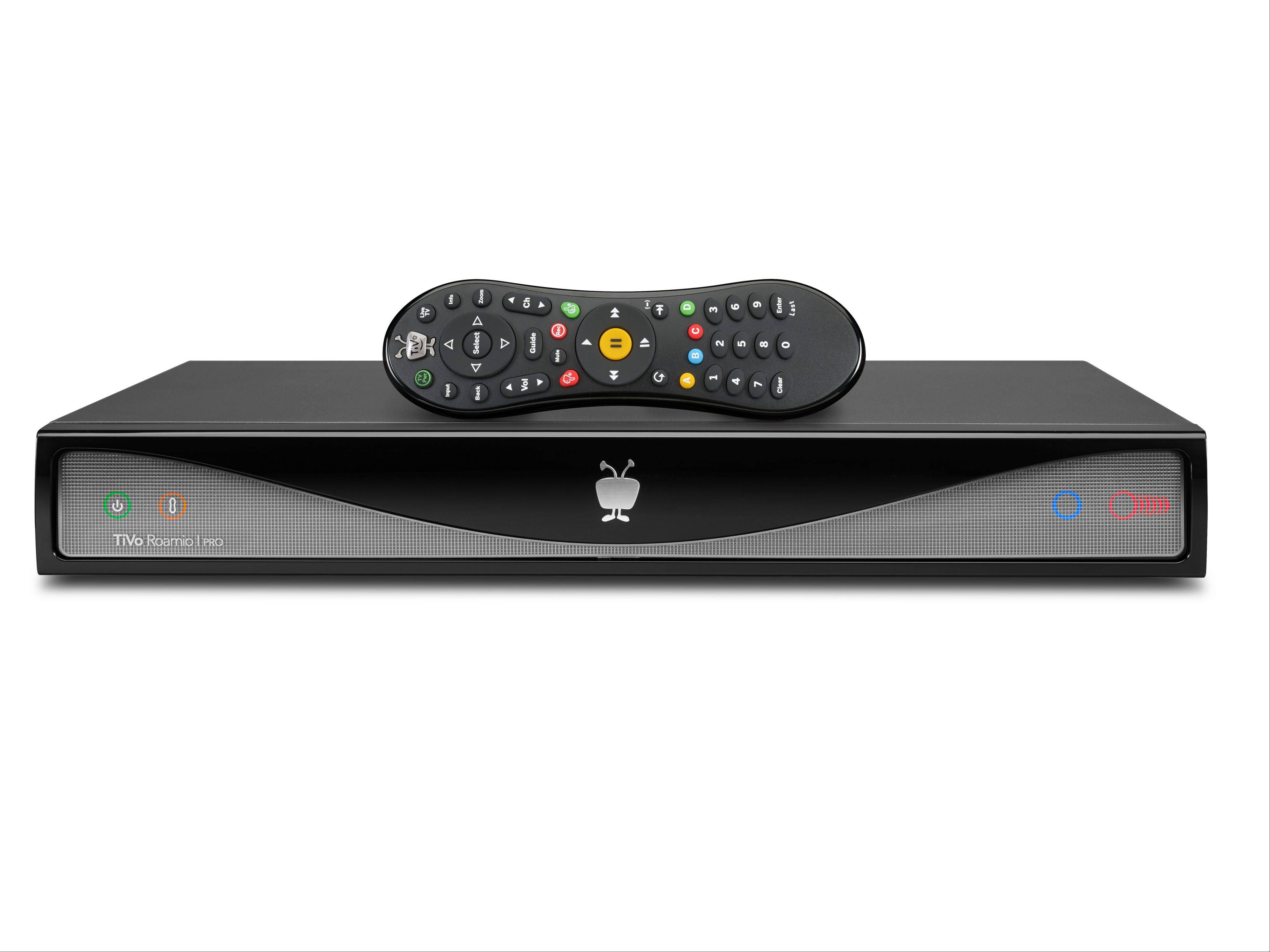 This image provided by TiVo Inc. shows a TiVo Roamio DVR, one of the companies new digital video recorders.