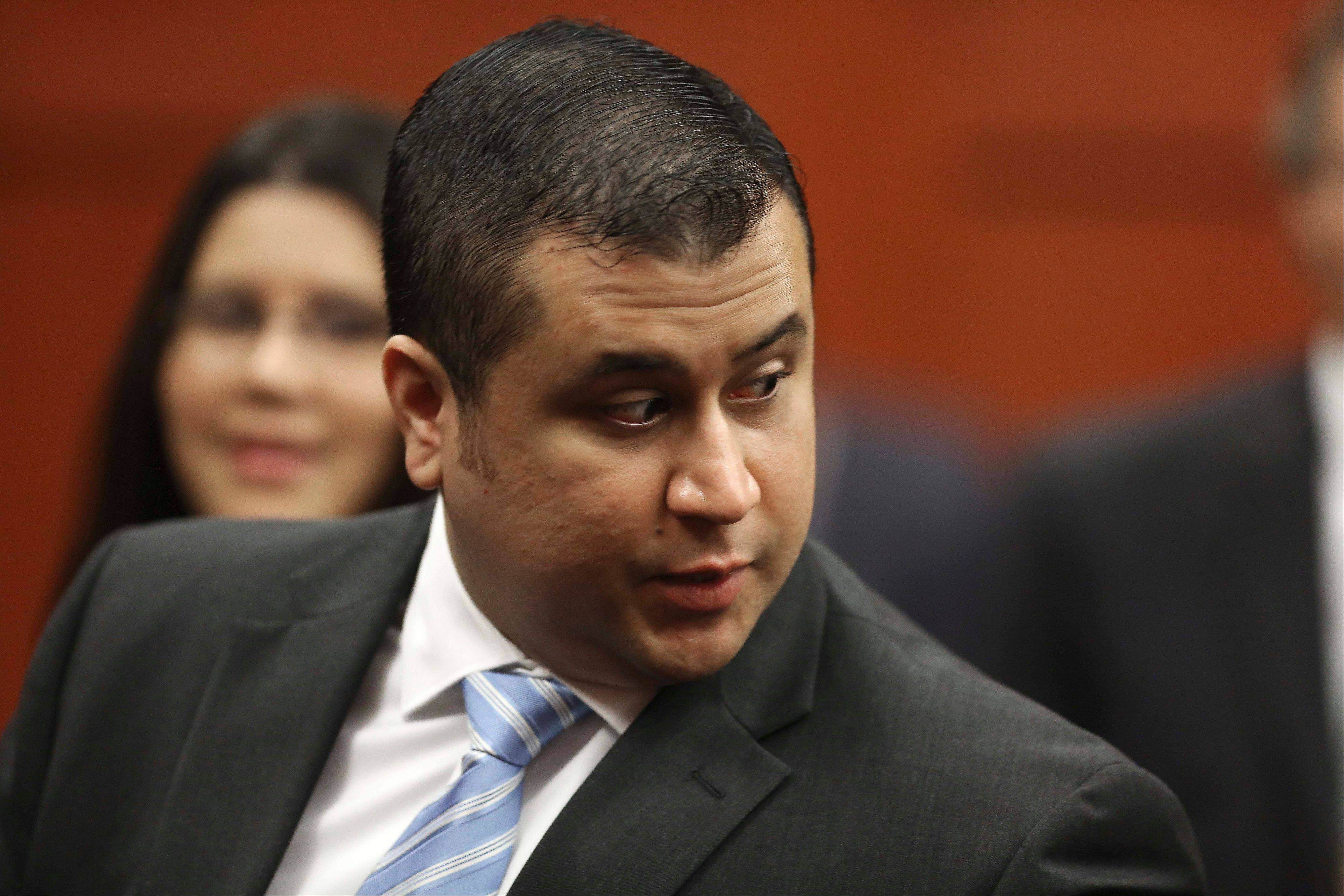 George Zimmerman enters the Seminole County Courthouse, in Sanford, Fla., during his trial on second degree murder in the killing of Trayvon Martin.