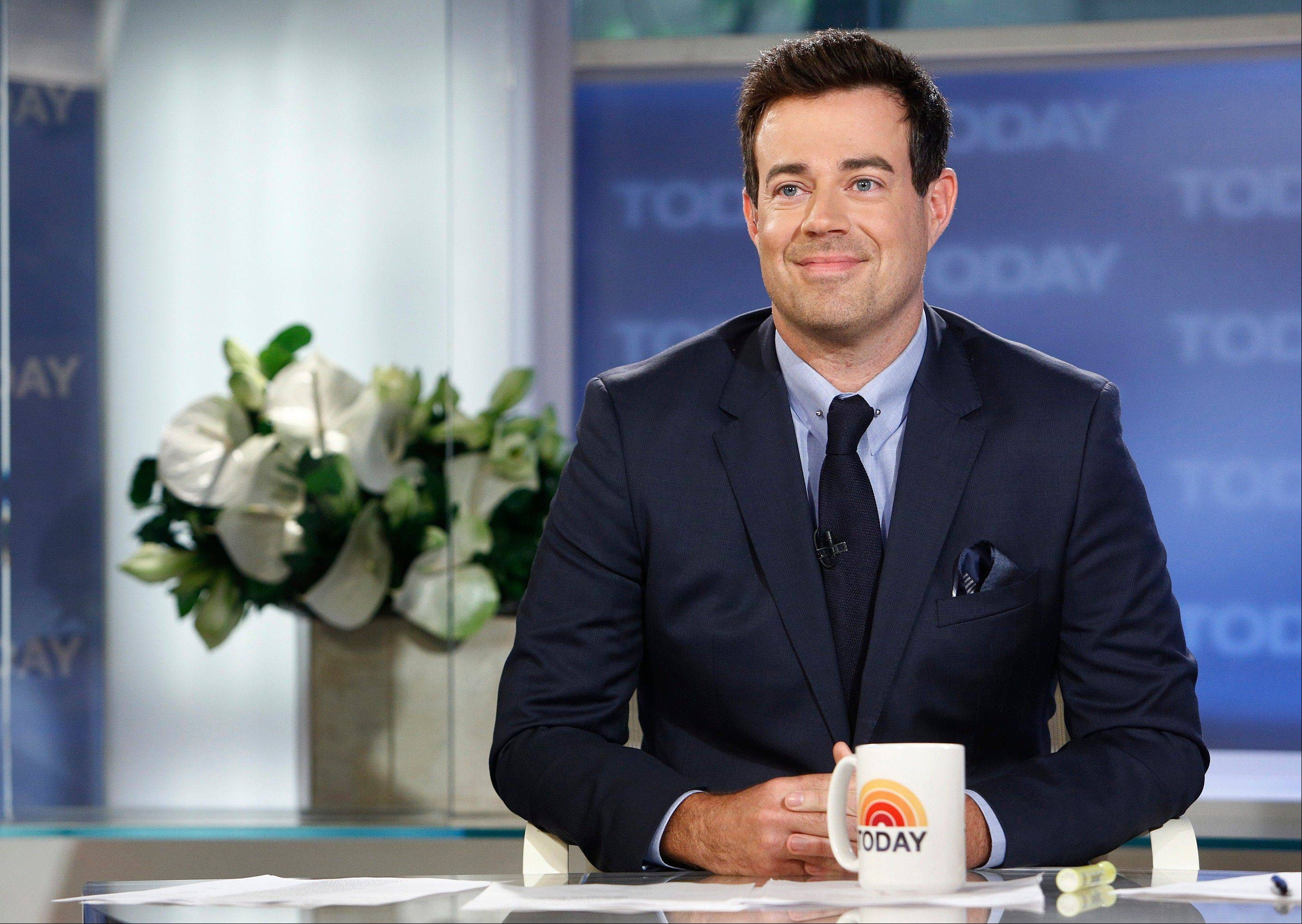 "Carson Daly will be joining NBC News' ""Today"" show in New York."