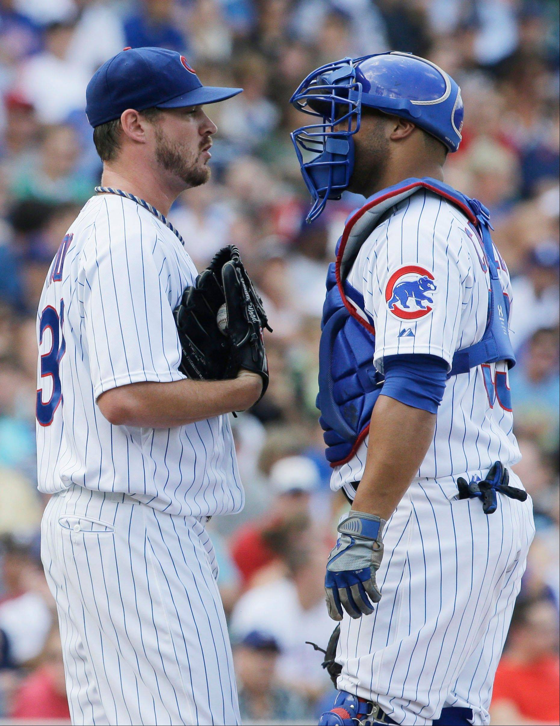 Cubs starter Travis Wood, and catcher Welington Castillo have shown enough positives to be considered part of the core in the team's rebuilding effort.