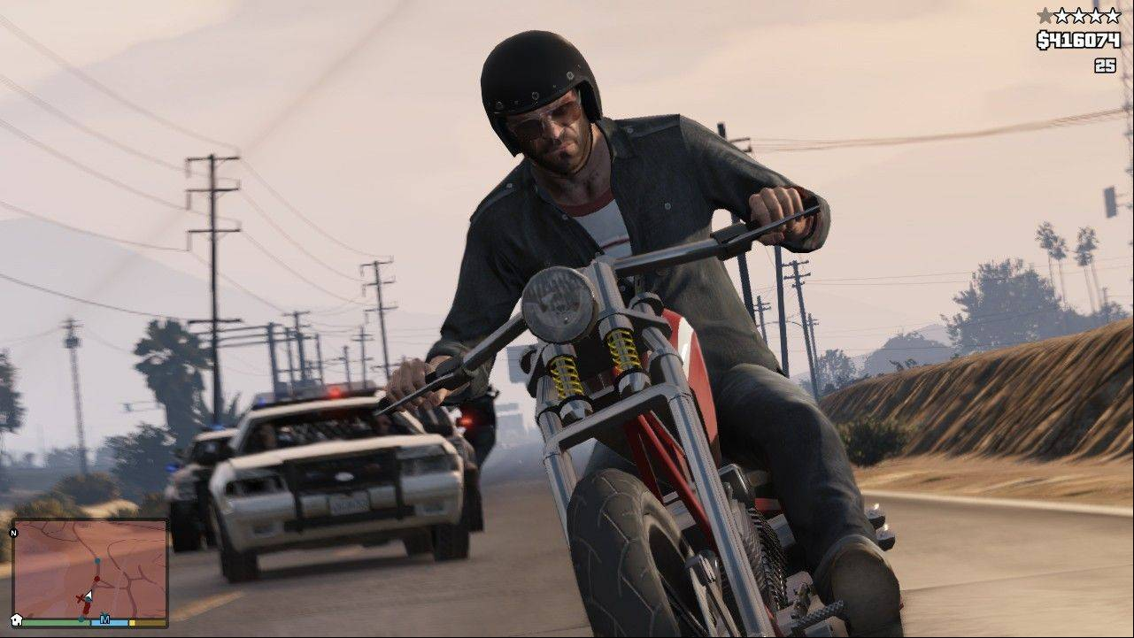 Four-star 'GTA V' triples the intensity