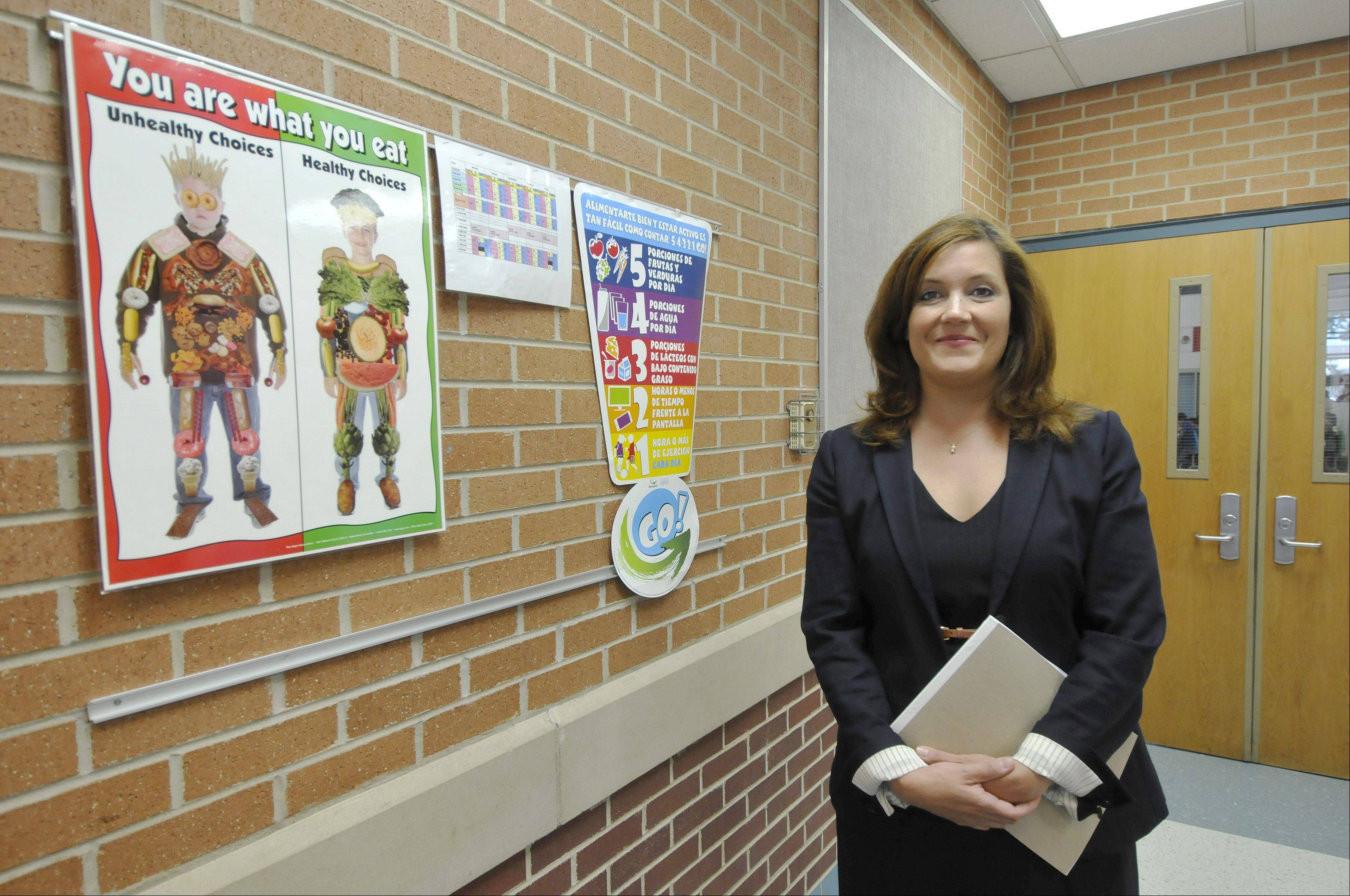 Kristina Davis, West Chicago Elementary District 33�s assistant superintendent for learning, talks about what steps the district has taken to help low-income students. District 33 saw the largest growth in its low-income population of any district in the Daily Herald circulation area.