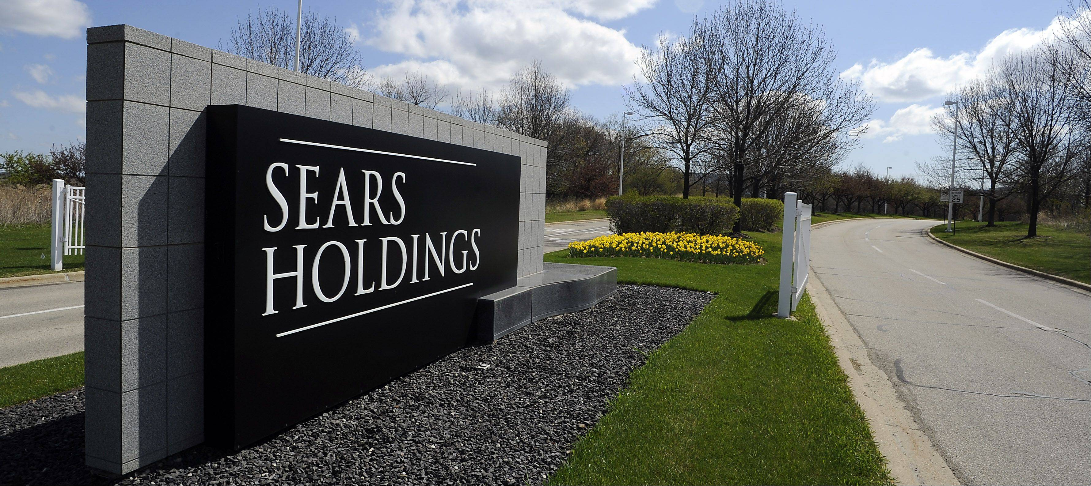 Mark Welsh/mwelsh@dailyherald.com ¬ Hoffman Estates officials are worried that Sears Holdings might just be packing their bags and heading out of town leaving the Prairie Stone campus area in Hoffman Estates.
