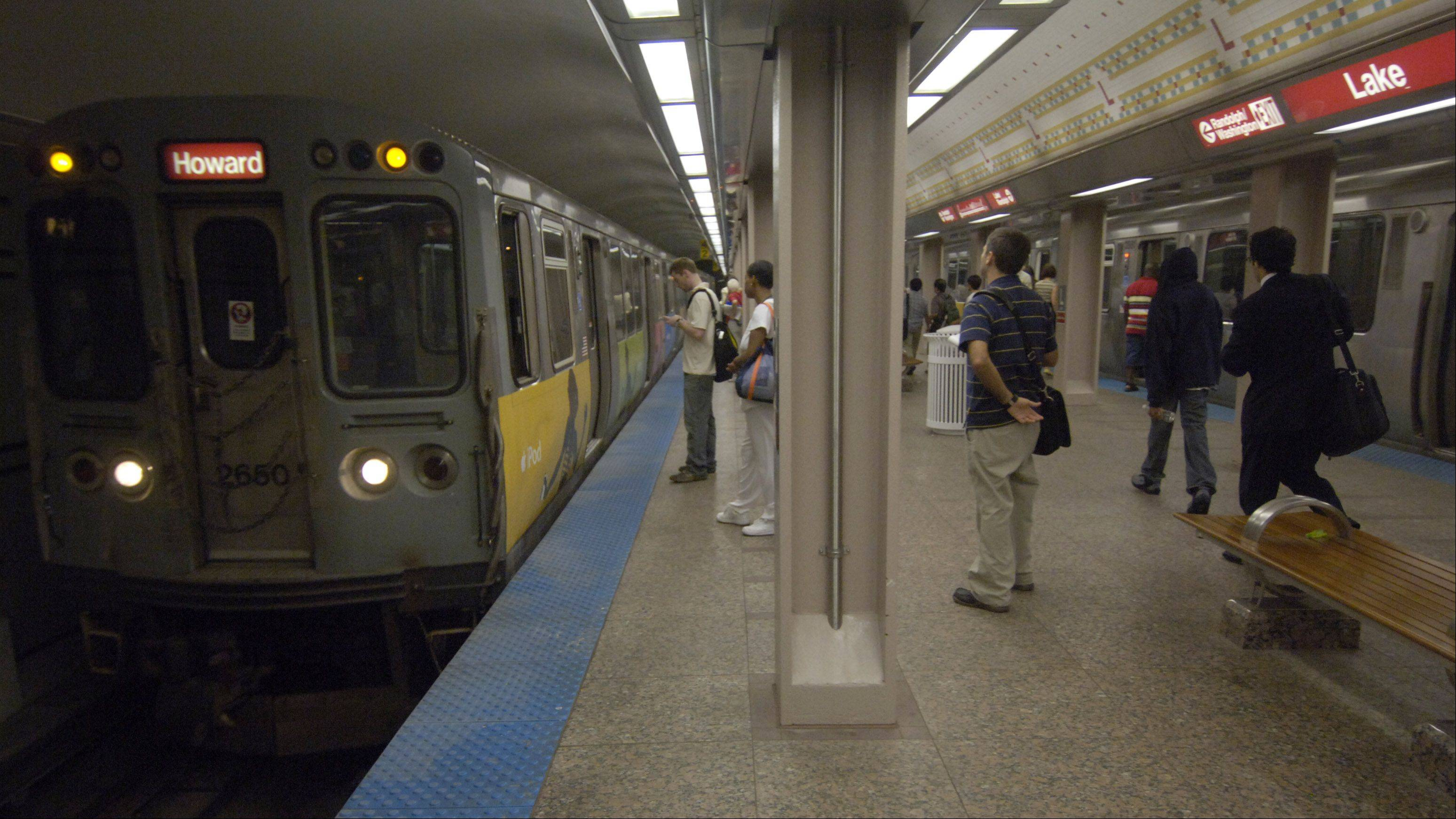 The Chicago Transit Authority has a message for riders: stay off the tracks.