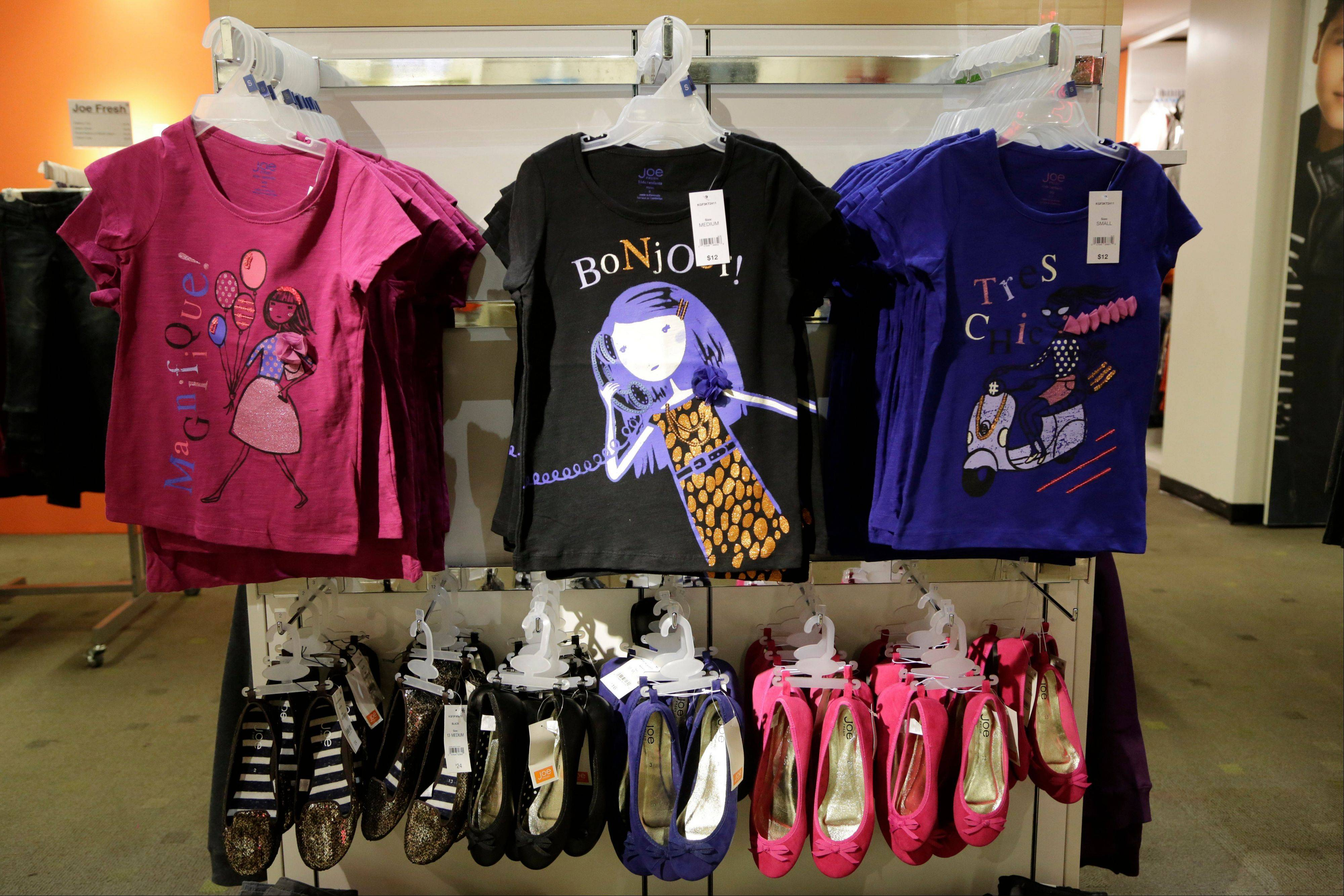 Back-to school fashions at JC Penney in New York. The cost of living in the U.S. rose less than forecast in August, a sign it will take time for inflation to reach the Federal Reserve's goal.