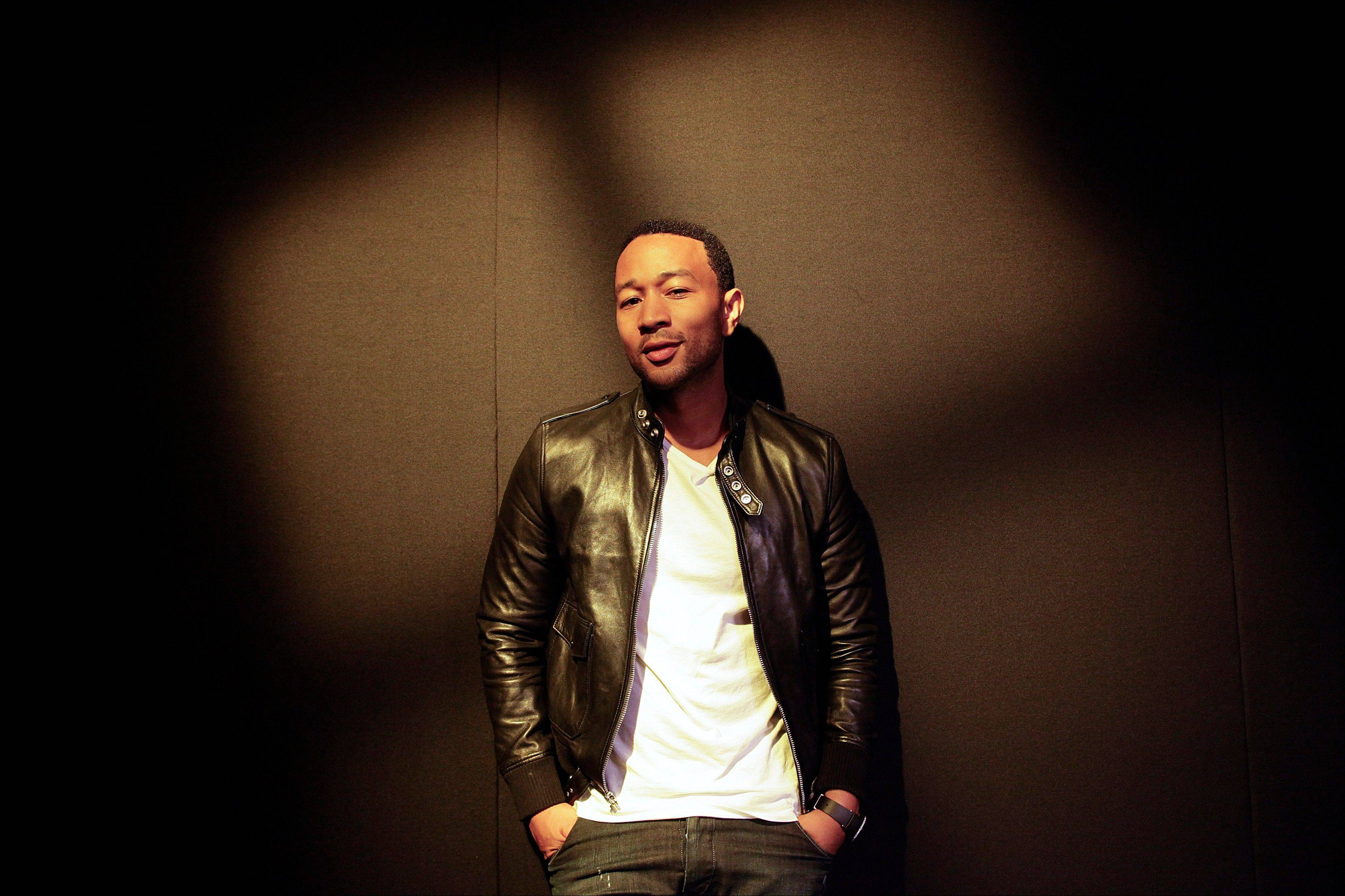 Singer John Legend�s fourth album went on sale earlier this month. He hits the road in October for a tour that will bring him to Chicago on Nov. 20.