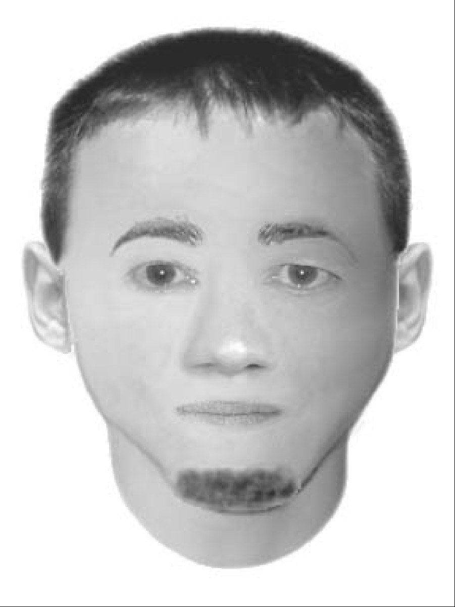 Downers Grove police released this sketch that could be similar to a man suspected in an armed robbery Monday morning.