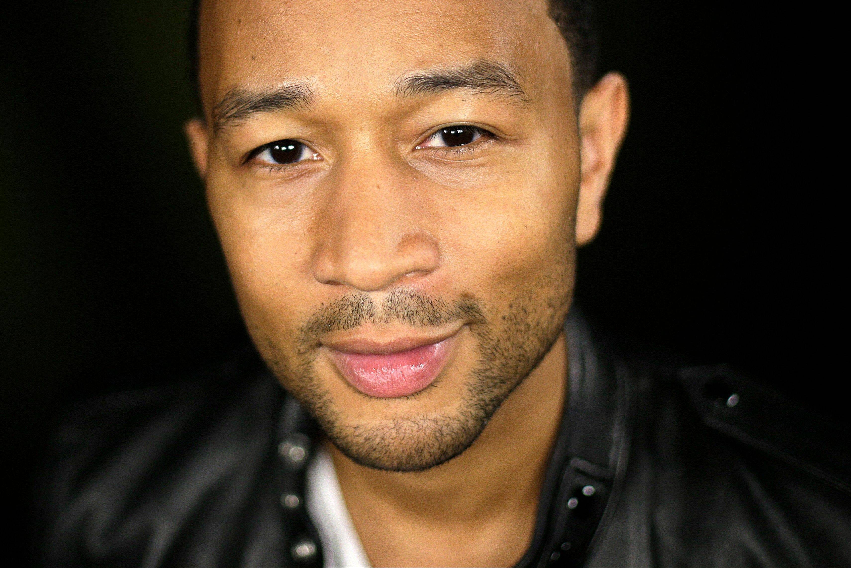 Singer John Legend's fourth album went on sale earlier this month. He hits the road in October for a tour that will bring him to Chicago on Nov. 20.