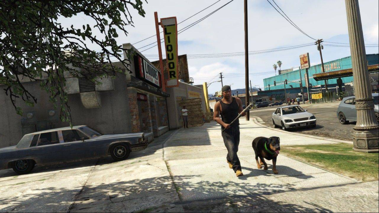 "Beyond the usual mayhem, you can also play golf and tennis or invest in the stock market in ""Grand Theft Auto V."""