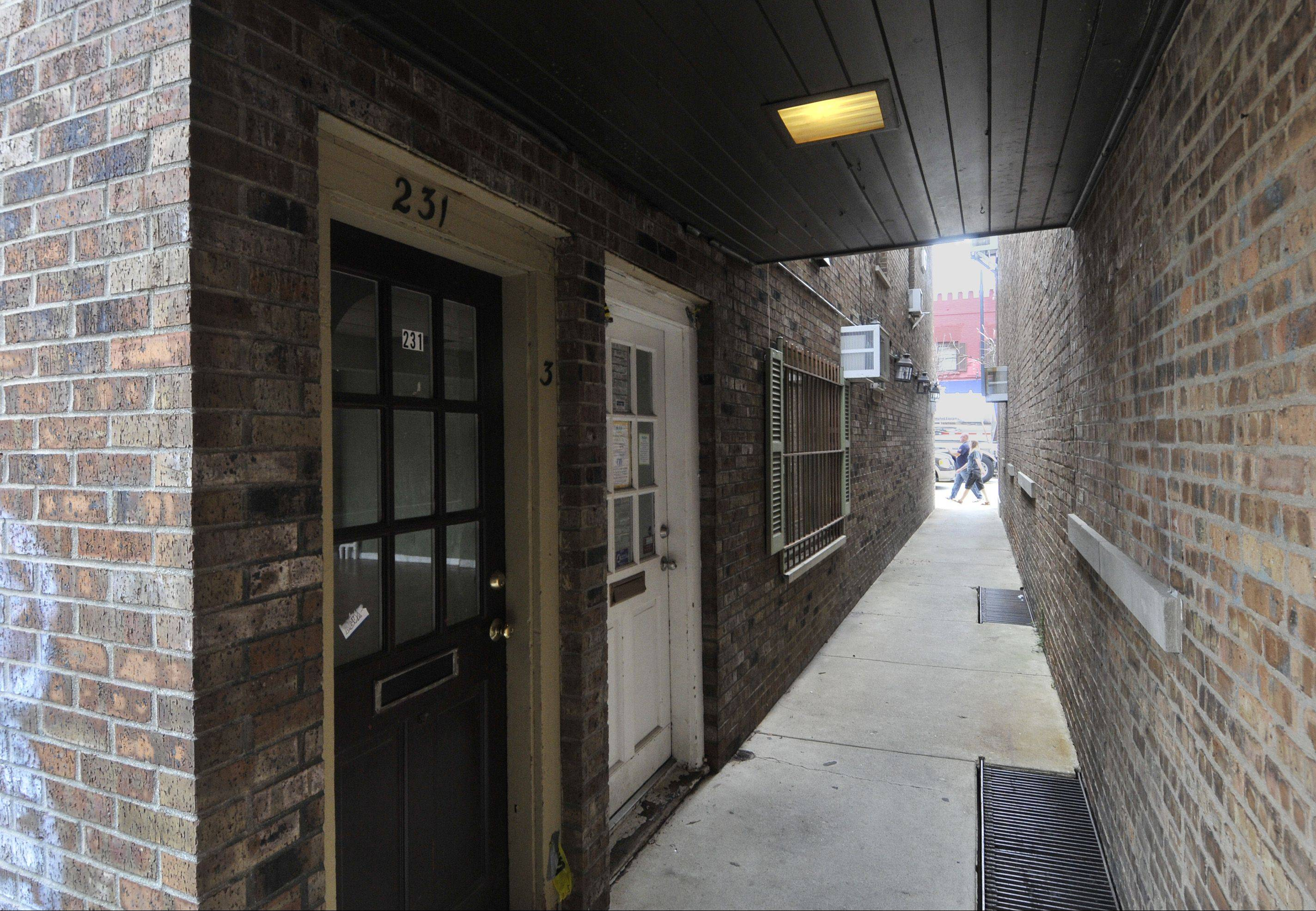 A 700-square-foot room in the rear of 231 S. Washington St. in Naperville soon will be home to the NaperBridge teen center after the city council approved the use of space Tuesday night. First-floor downtown space usually is reserved for retail, but this space has no frontage on Washington and is accessible from the back of the building or the alley between Fitness Experts and BK Jewelry.