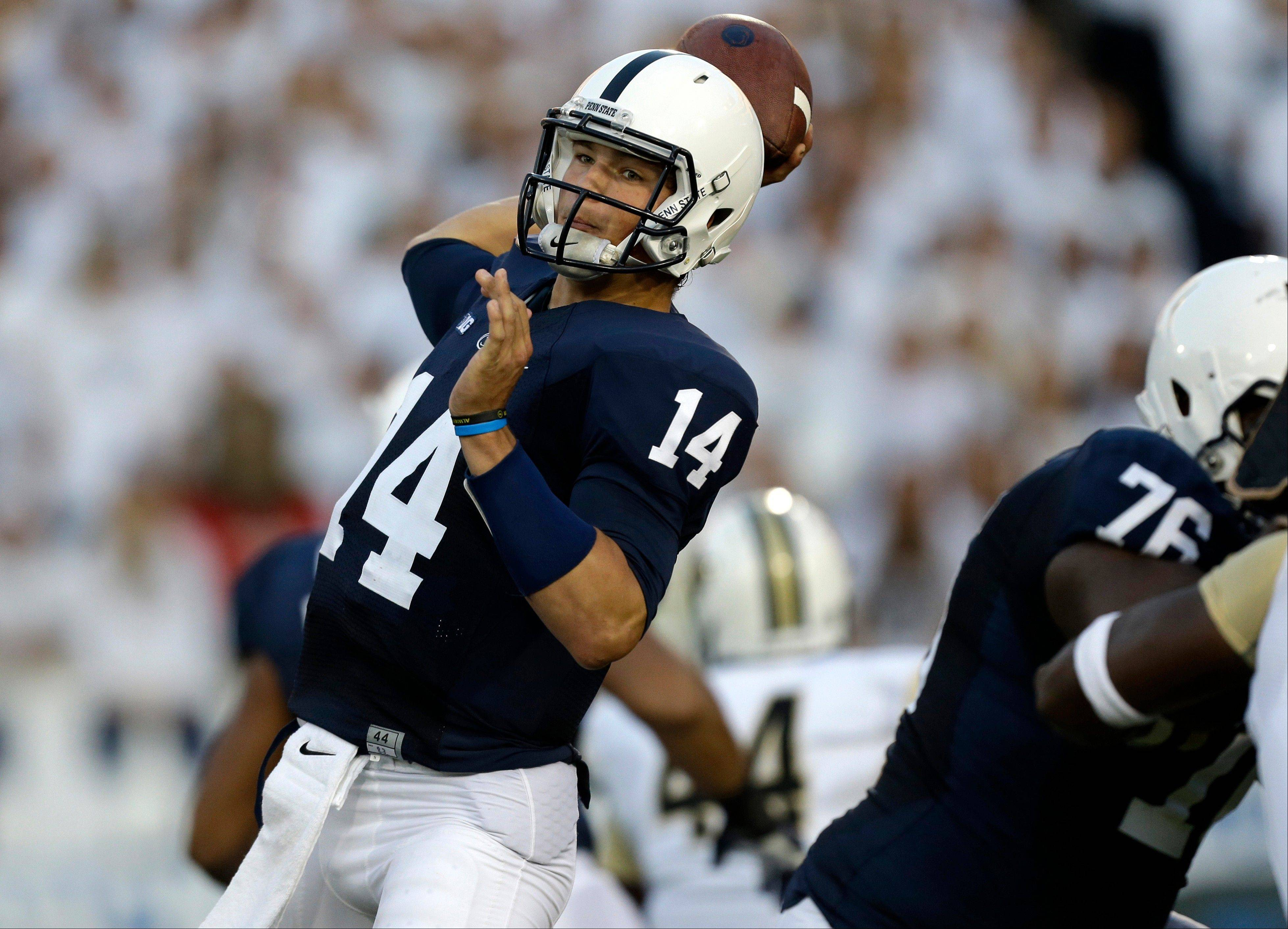 QB Hackenberg balancing school, success at Penn State