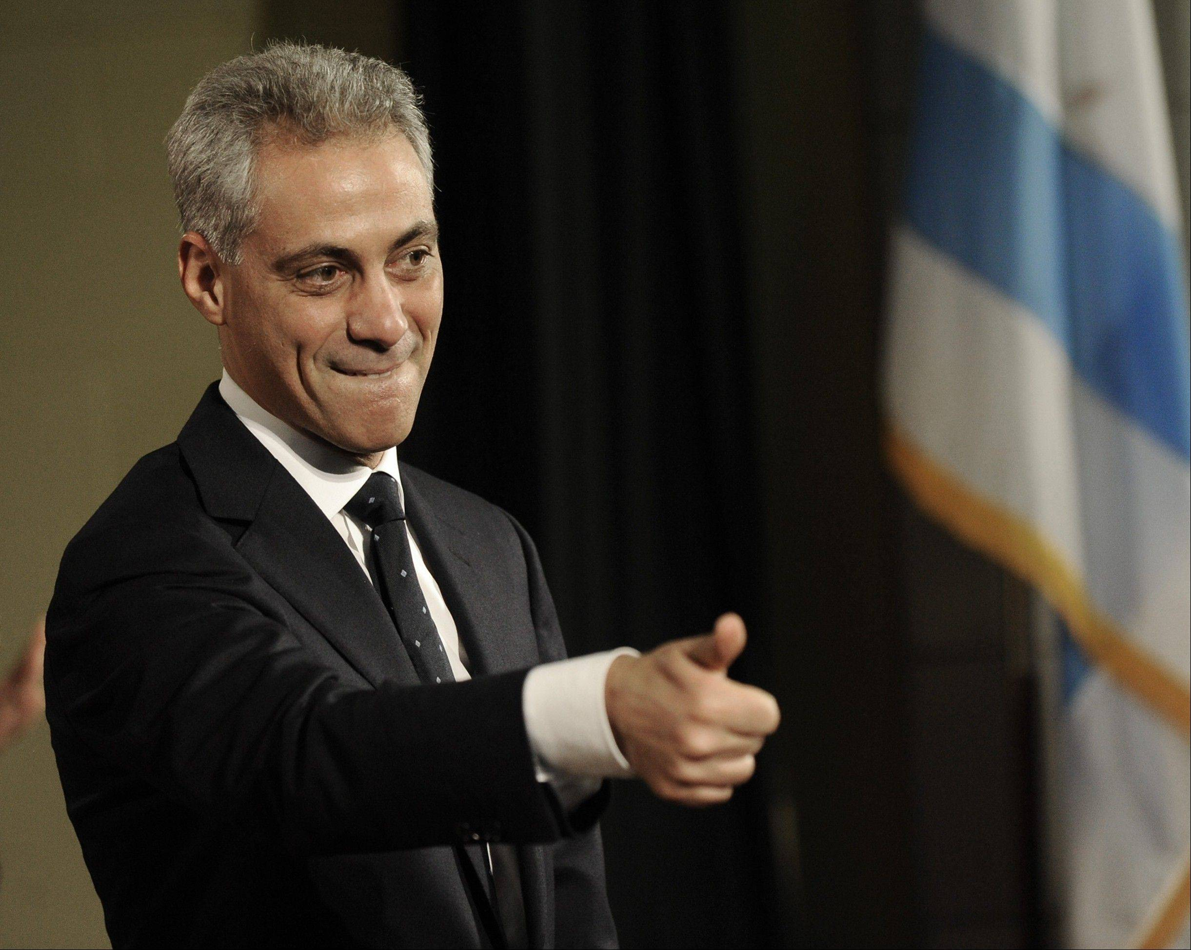 Mayor Rahm Emanuel says technology is important for creating jobs and improving residents' quality of life.