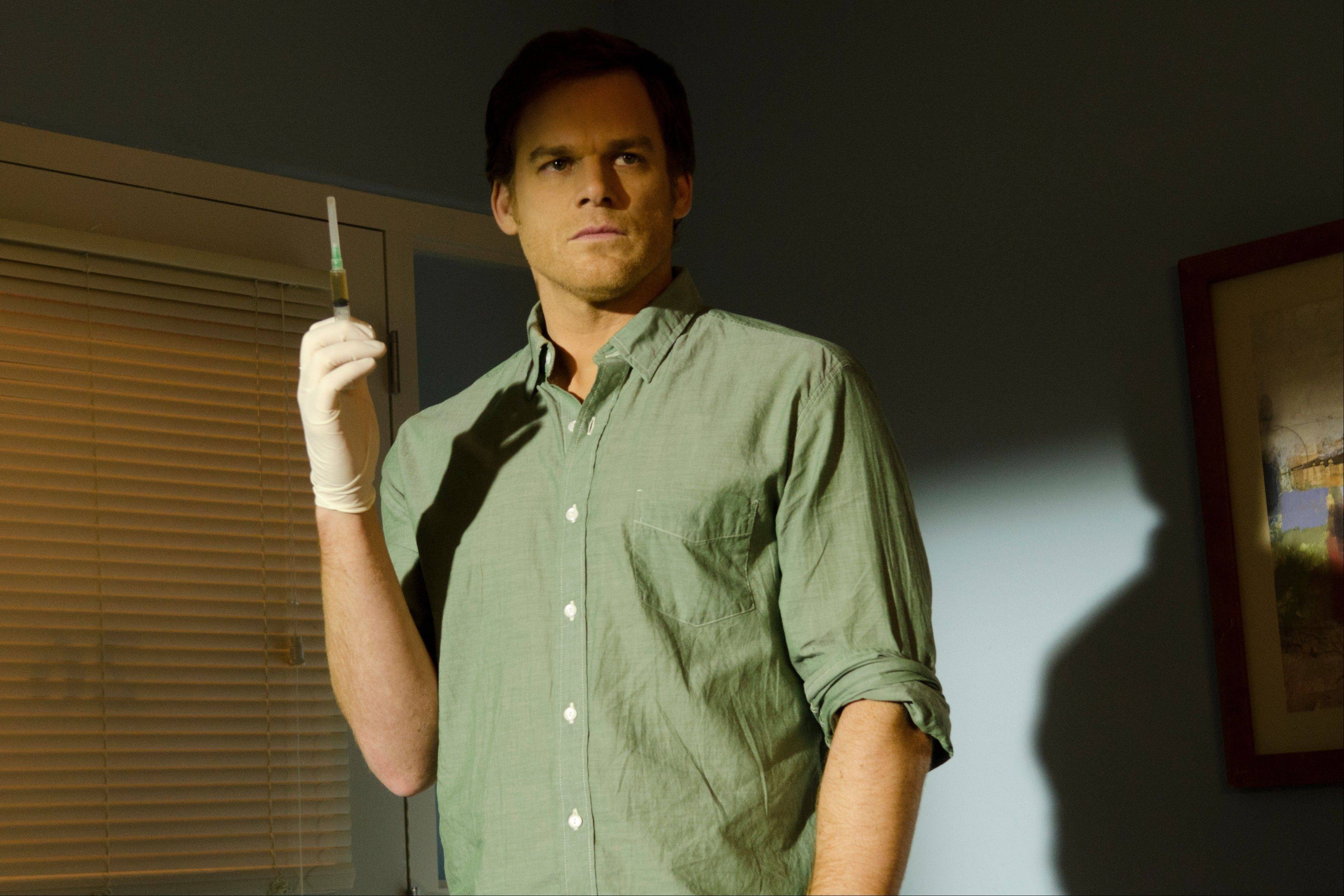 "The final episode of ""Dexter"" starring Michael C. Hall airs at 8 p.m. Sunday on Showtime."