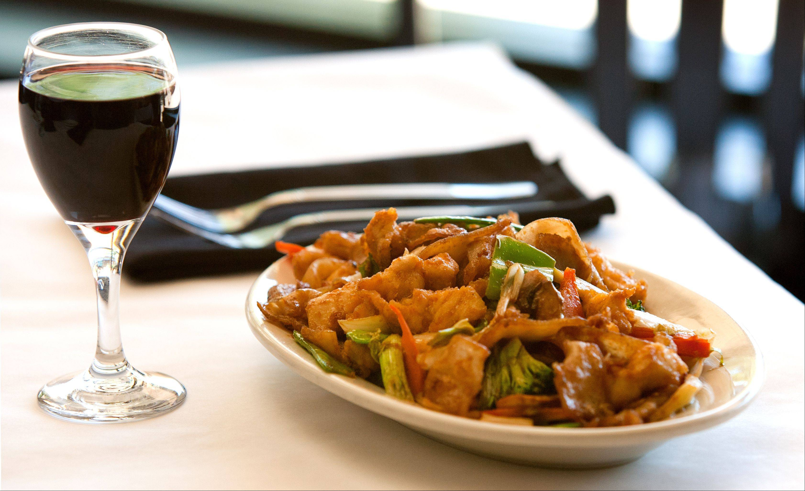 Chicken chow fun is one of the many well-crafted, delicious dishes available at Hua Ting.
