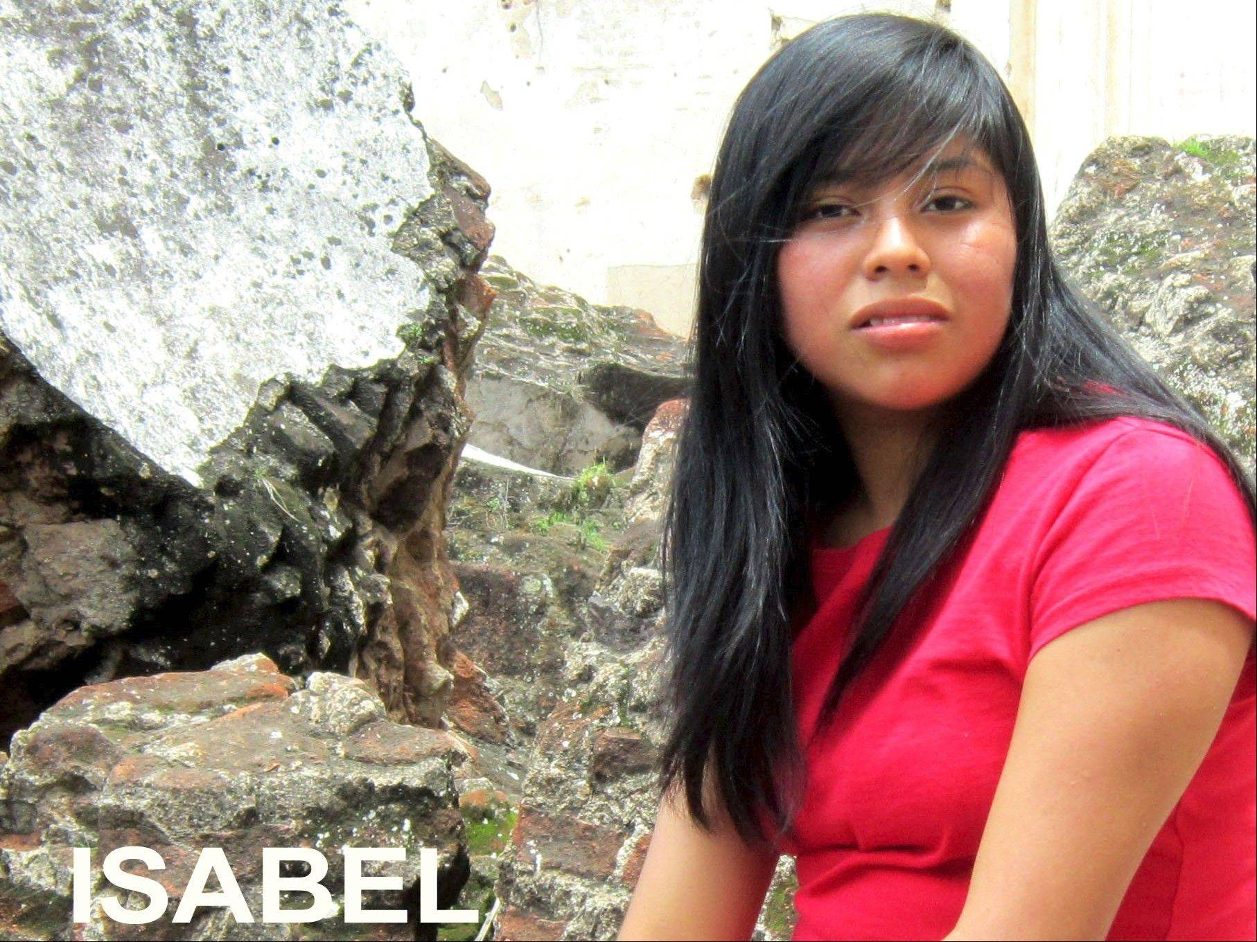 Isabel is one of the girls the Prims work with in Guatemala.