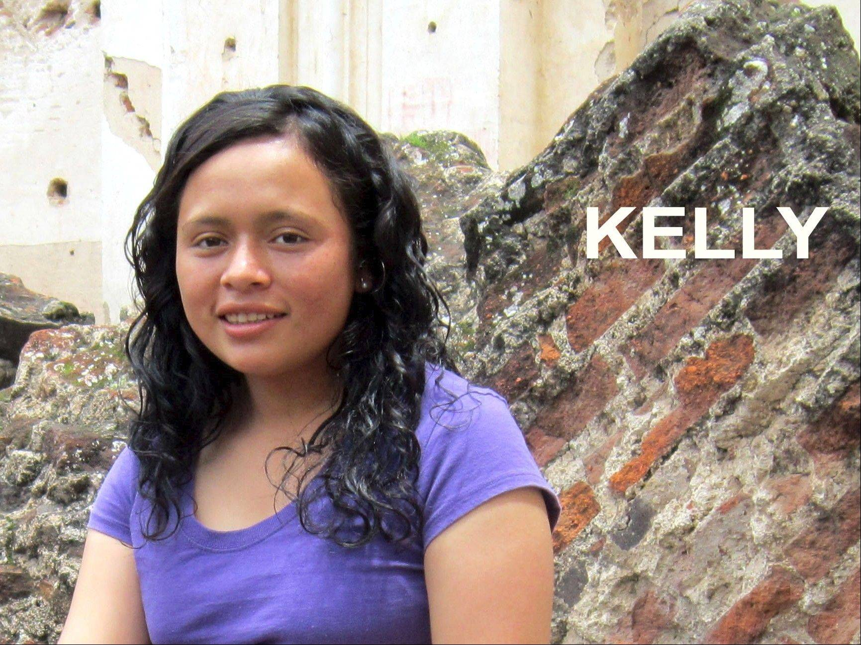 Kelly is one of the girls the Prims work with in Guatemala.