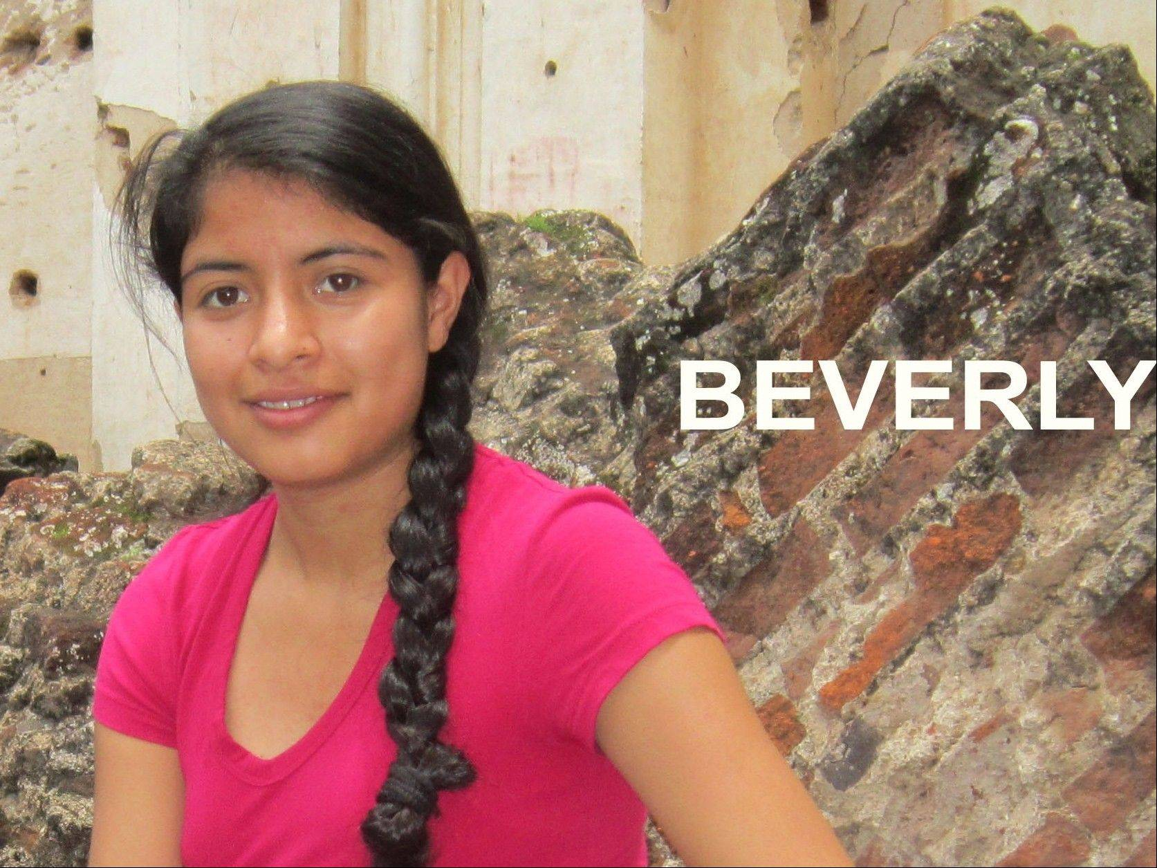 Beverly is one of the girls the Prims work with in Guatemala.
