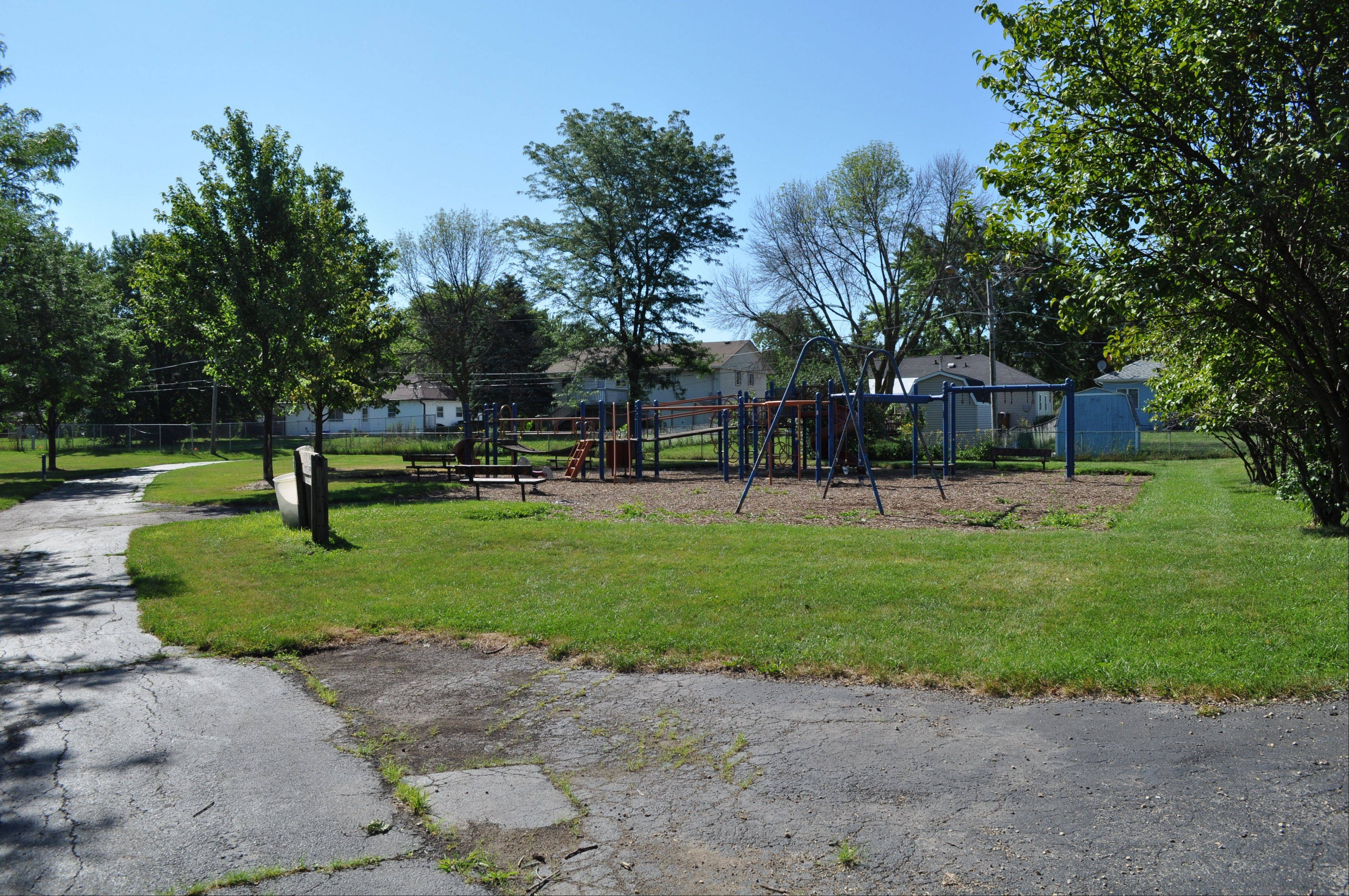 Lacy Park, located at 735 Stowel Ave. in Streamwood, has a new owner Hanover Township. The 2.6-acre park is comprised of a playground, walking and bike paths, and an activity field.
