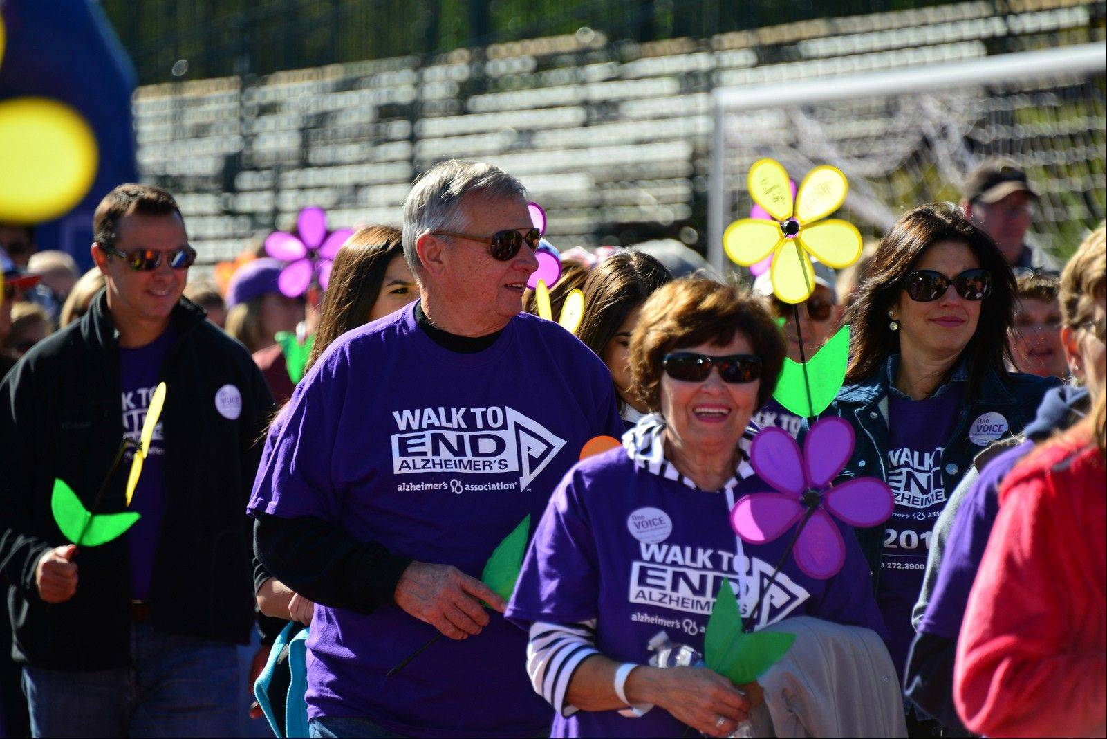 The Walk to End Alzheimer's raises money to support research and programs through the Alzheimer's Association.