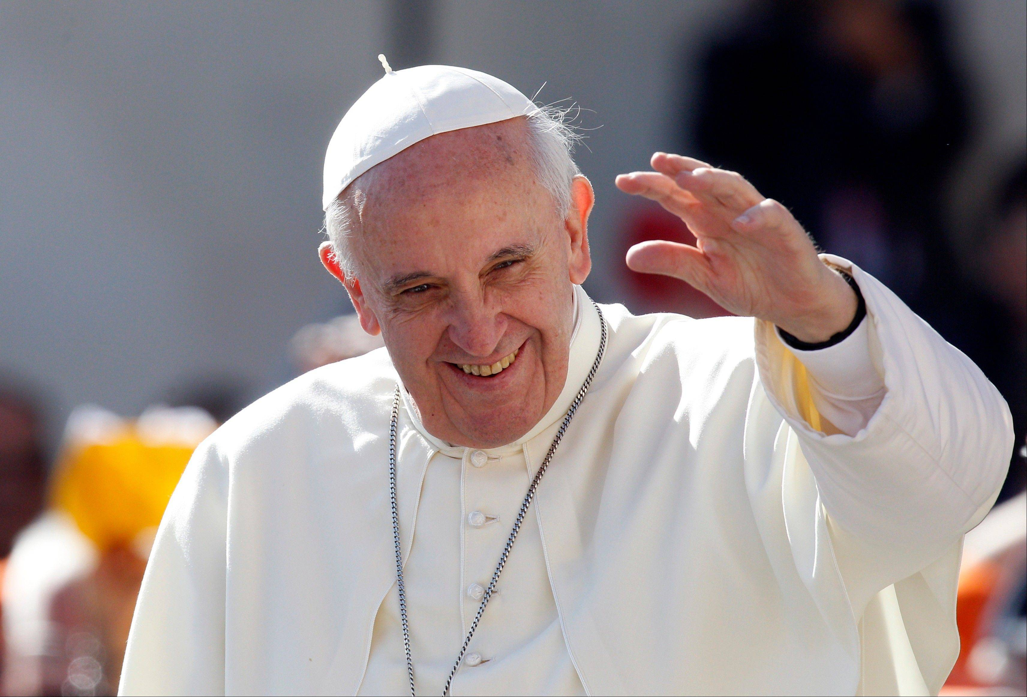 Pope: Church must focus beyond