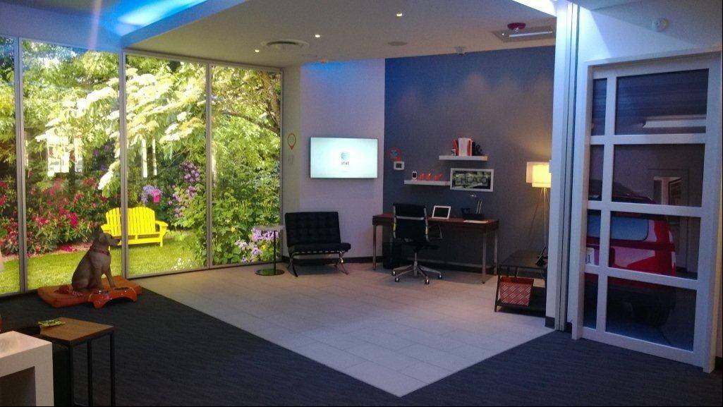 AT&T's Innovation Center in Arlington Heights recently unveiled rooms using all of the Digital Life services and devices.