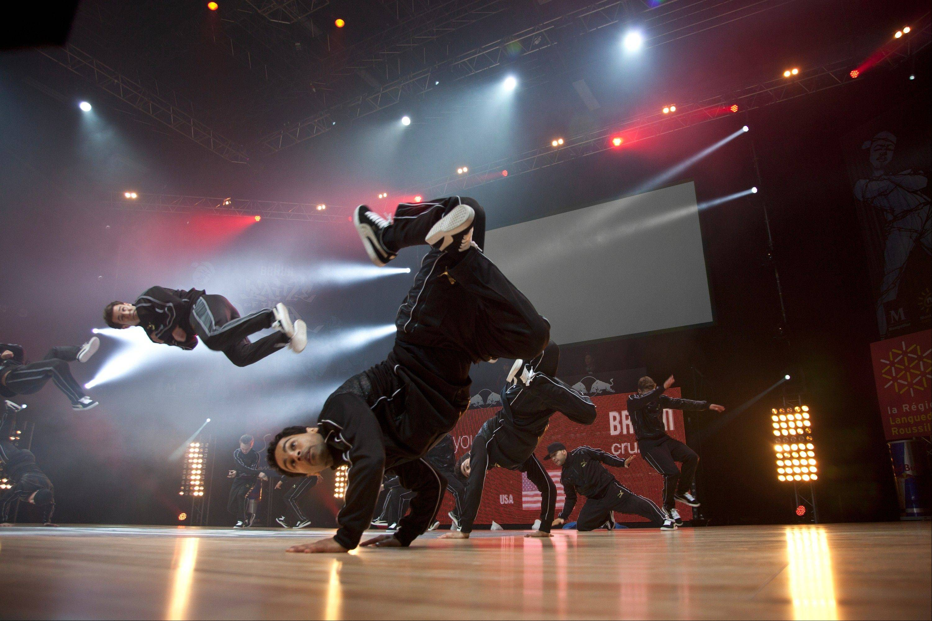 "Hip-hoppers do their thing in France at the ""Battle of the Year."""