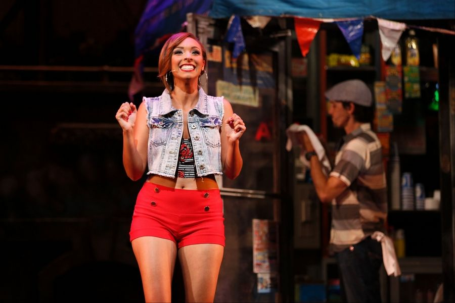 "Vanessa (Caitlainne Rose Gurreri) dreams of getting away from her mother and the barrio in the Tony Award-winning musical ""In the Heights"" at the Paramount Theatre in Aurora."